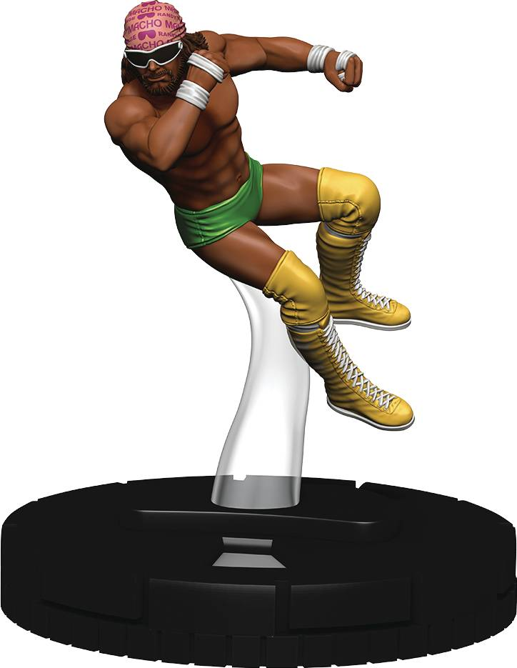 WWE HEROCLIX MACHO MAN RANDY SAVAGE EXP PACK