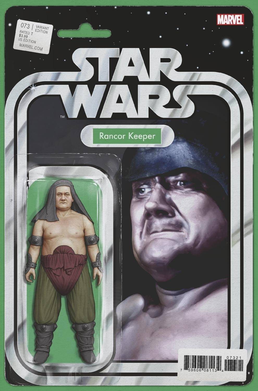 STAR WARS #73 CHRISTOPHER ACTION FIGURE VAR