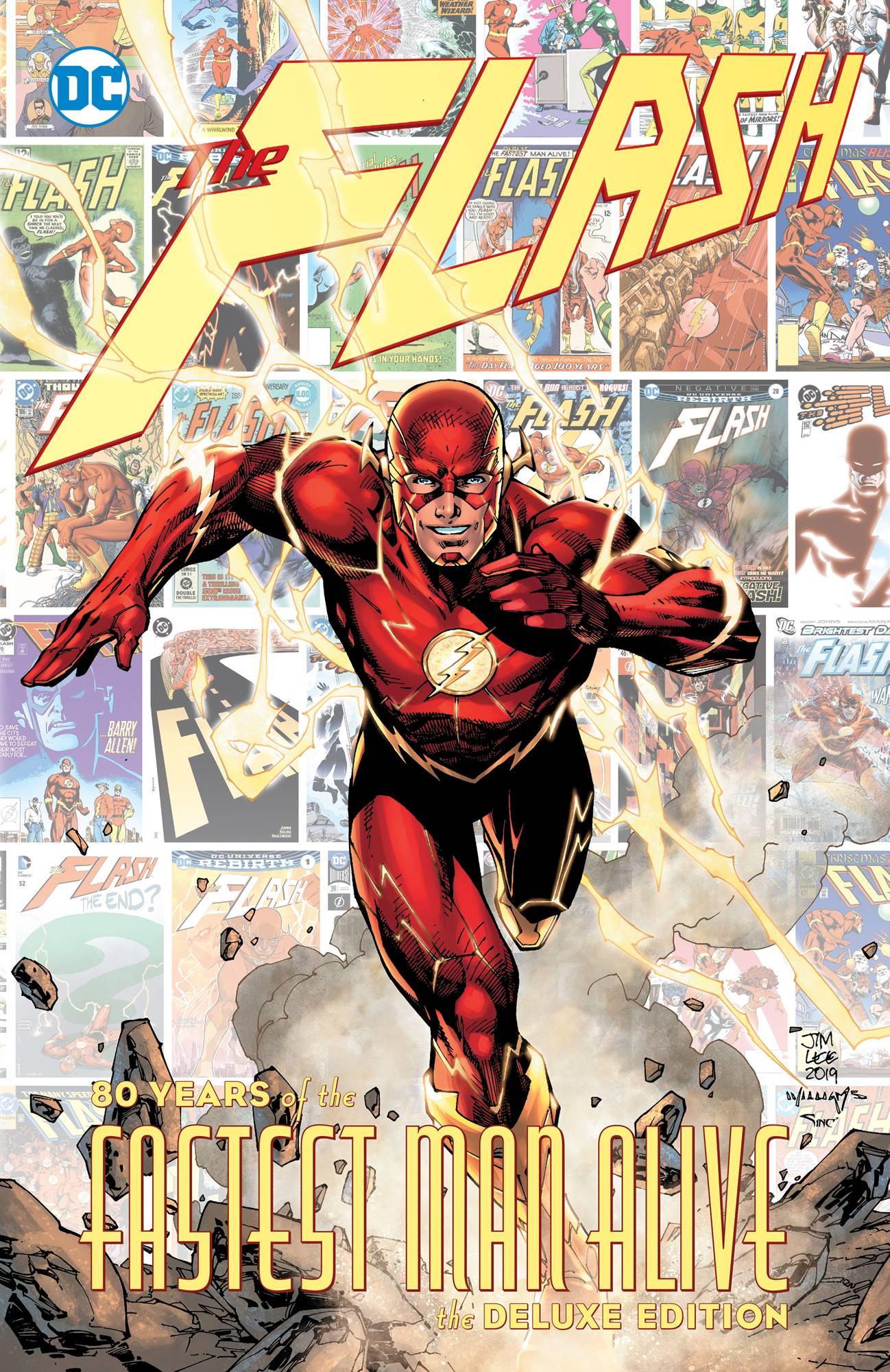 FLASH 80 YEARS OF THE FASTEST MAN ALIVE HC