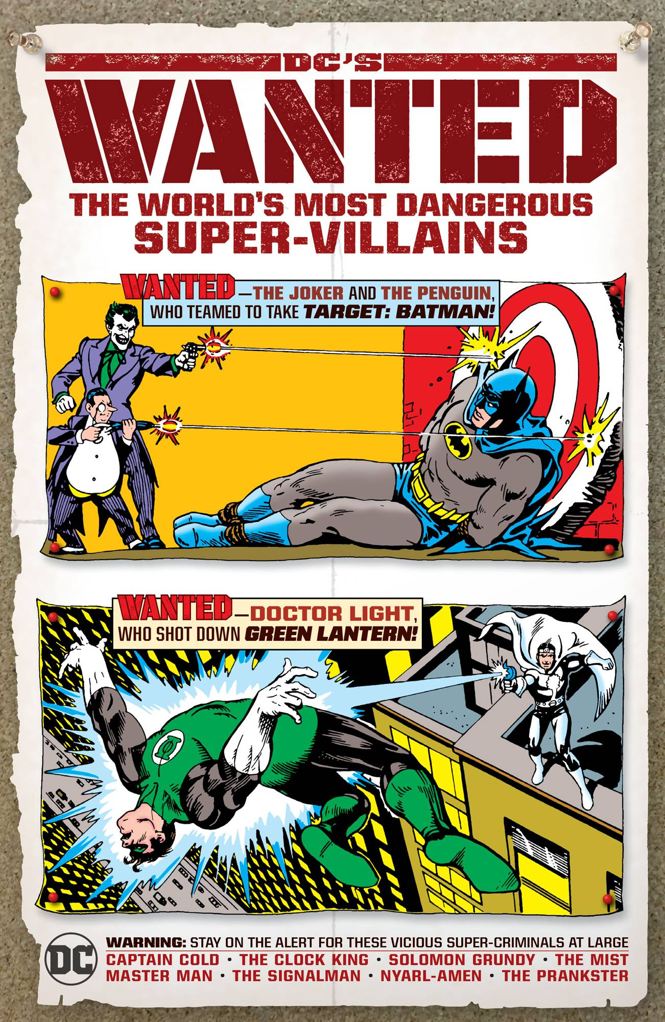 DCS WANTED WORLDS MOST DANGEROUS SUPERVILLAINS HC