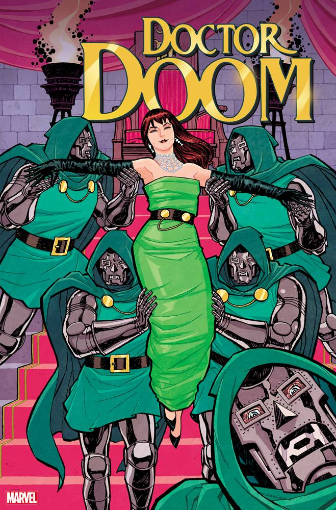DOCTOR DOOM #1 CHIANG MARY JANE VAR