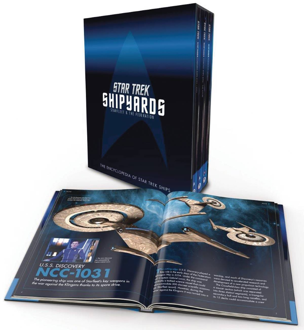 STAR TREK SHIPYARDS STARFLEET & FEDERATION BOX SET