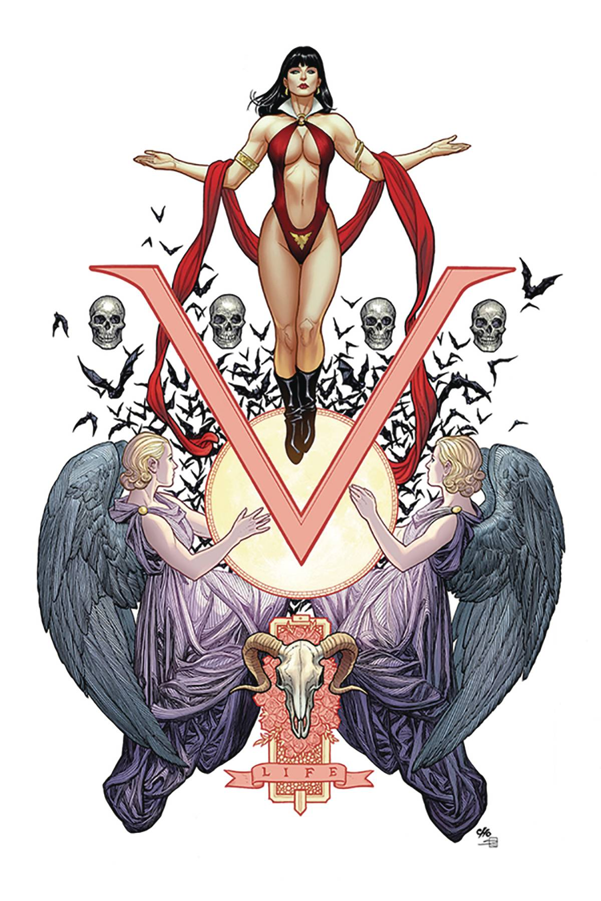VENGEANCE OF VAMPIRELLA #1 CHO LTD VIRGIN CVR