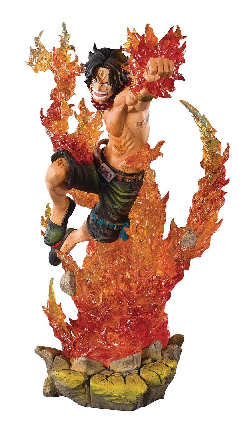 ONE PIECE PORTGAS D ACE COMMAND OF 2ND DIV FIGUARTS ZERO AF