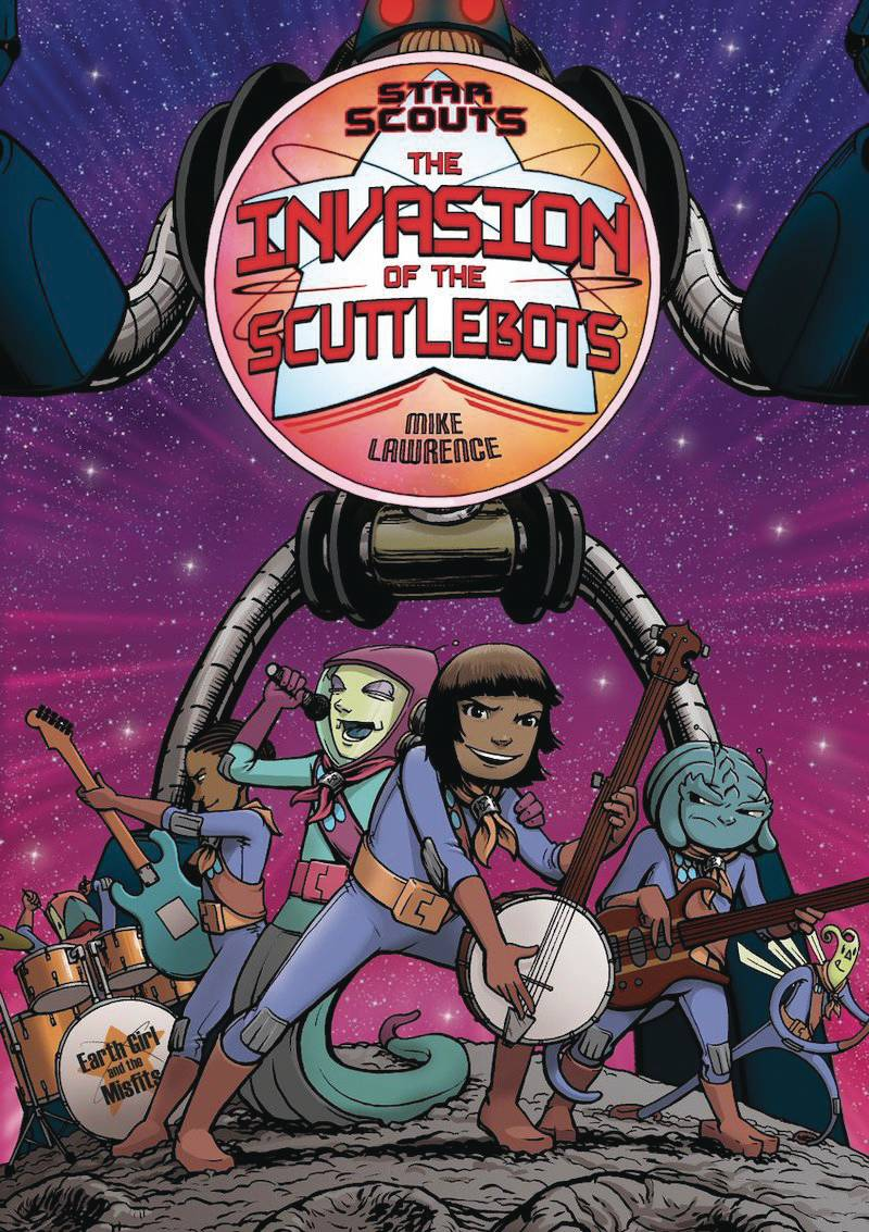 STAR SCOUTS GN VOL 03 INVASION OF SCUTTLEBOTS