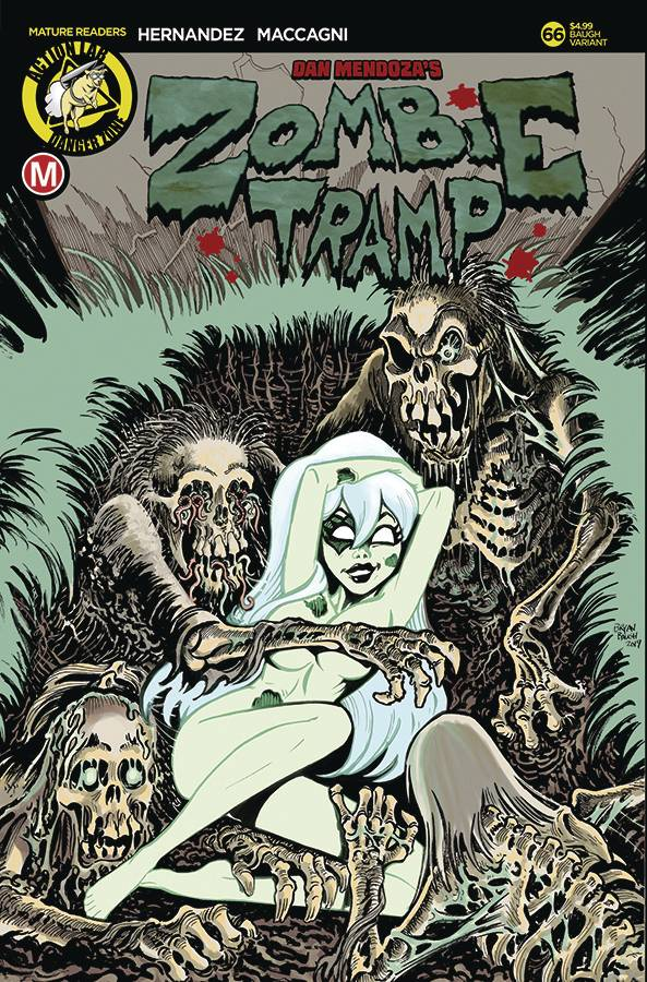 ZOMBIE TRAMP ONGOING #66 CVR C BAUGH VAR (MR)