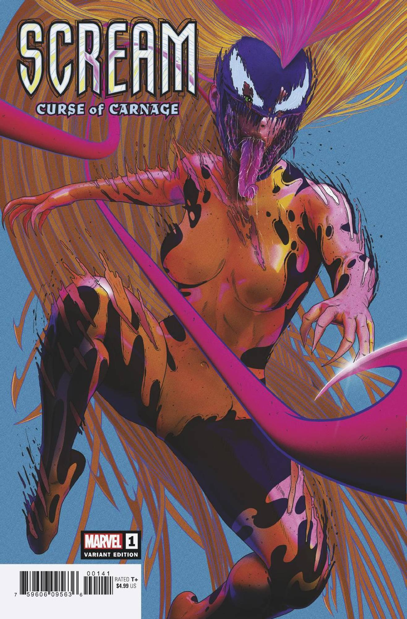 SCREAM CURSE OF CARNAGE #1 SULLO VAR