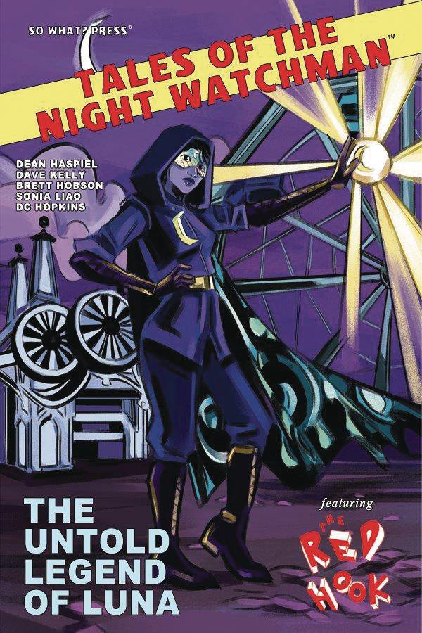 TALES NIGHT WATCHMAN RED HOOK UNTOLD LEGEND LUNA PEARSON CVR