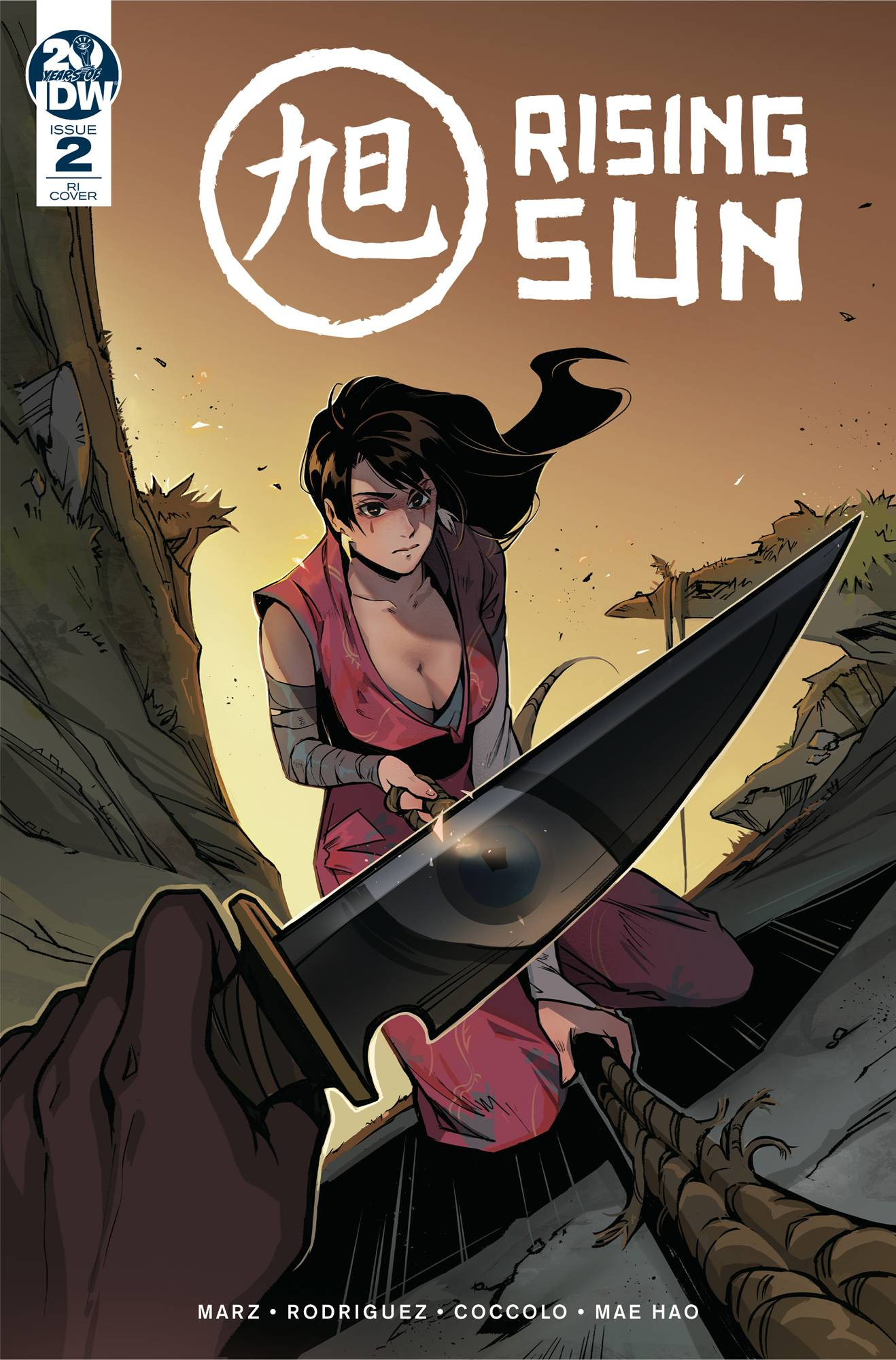 RISING SUN #2 (OF 3) 10 COPY INCV YU