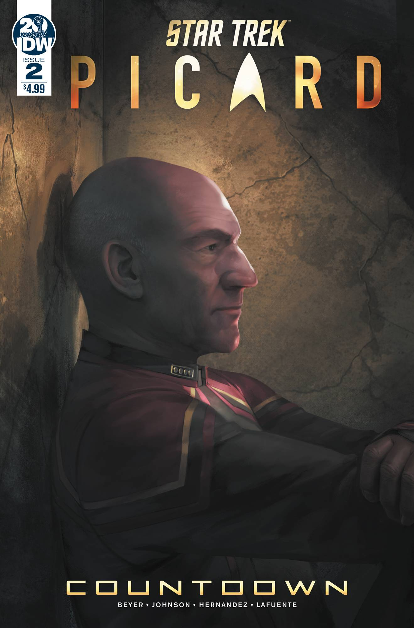 STAR TREK PICARD #2 (OF 3) CVR A PITRE-DUROCHER
