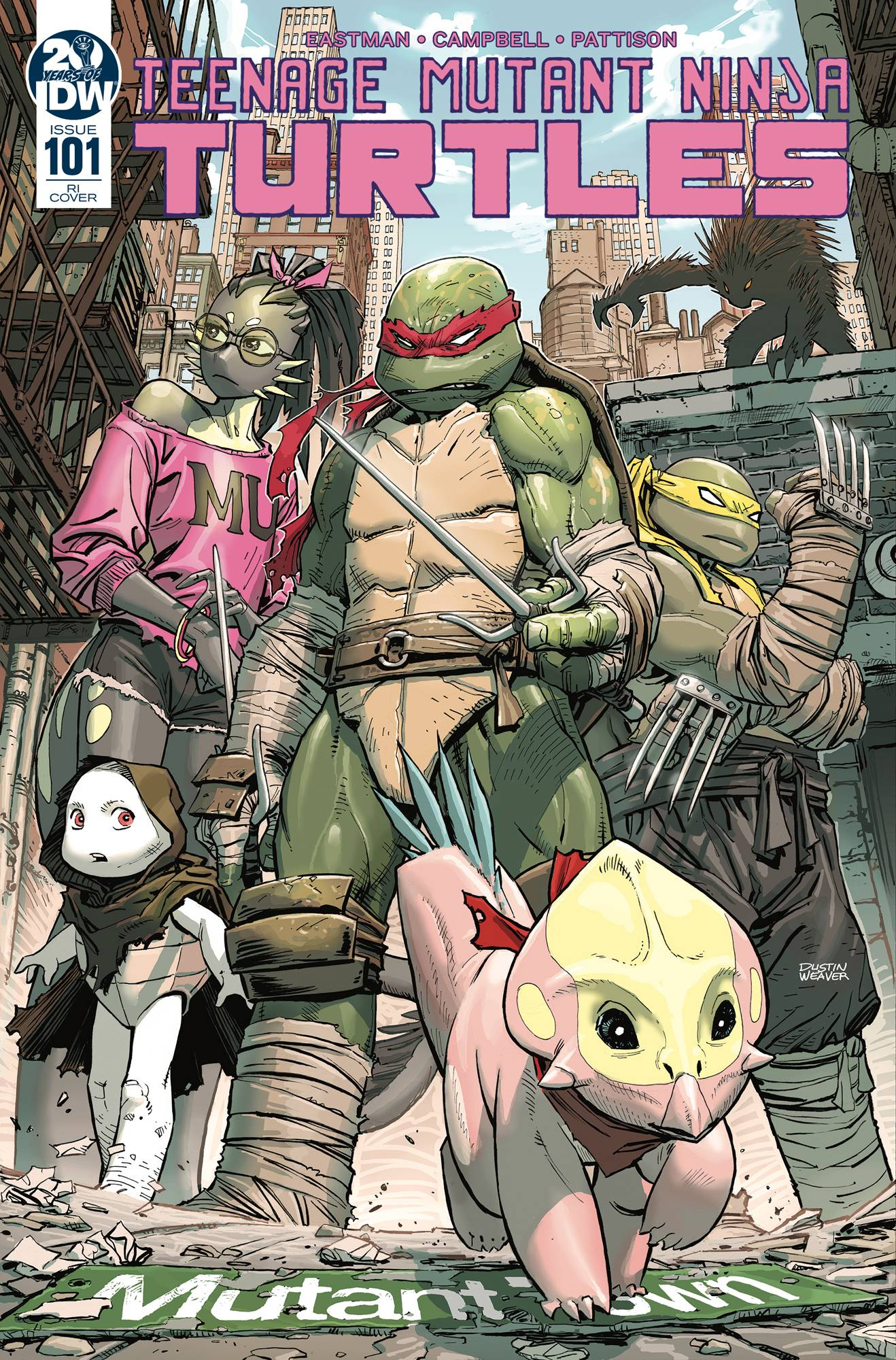 TMNT ONGOING #101 10 COPY INCV WEAVER