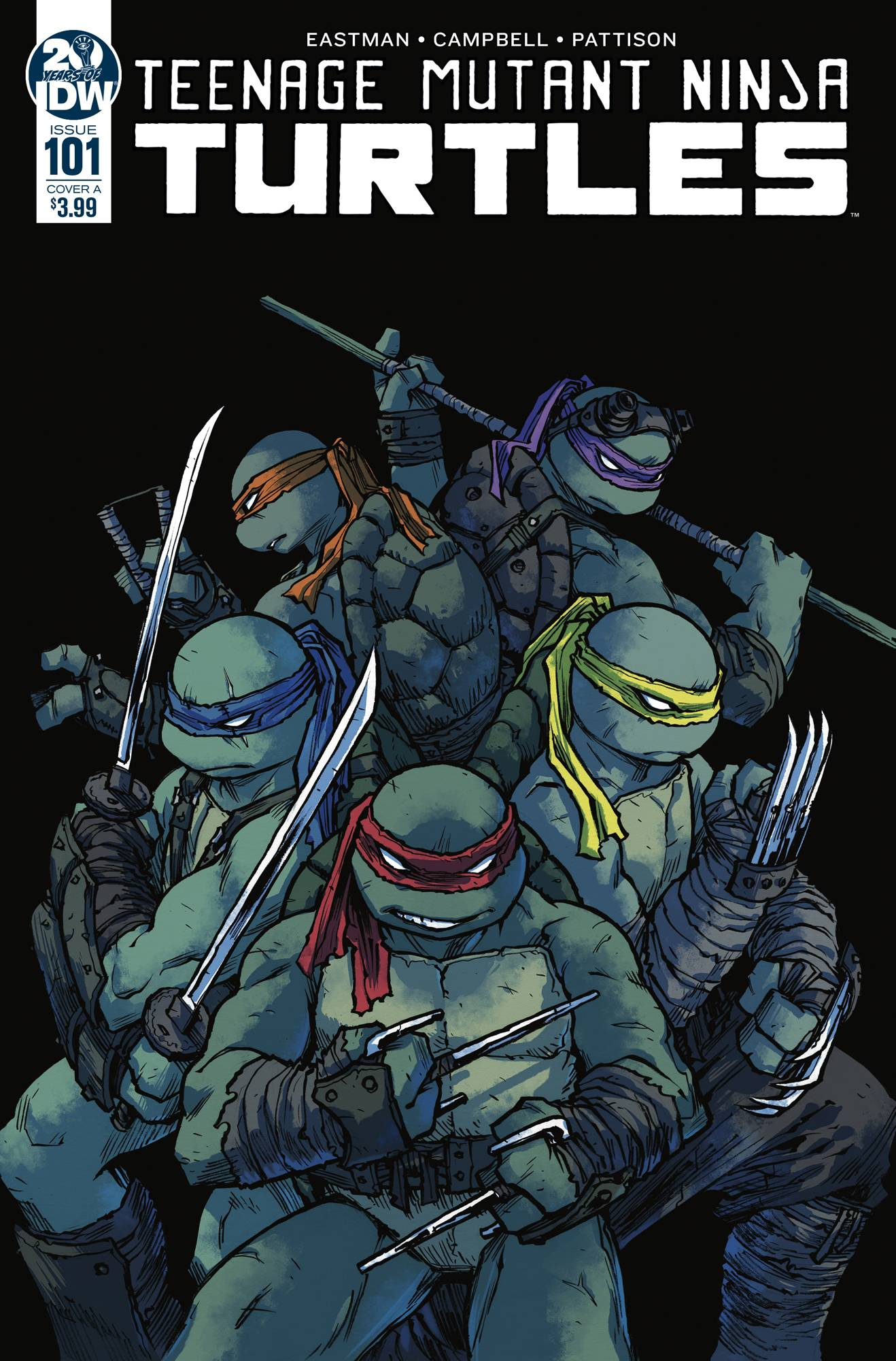 TMNT ONGOING #101 CVR A CAMPBELL