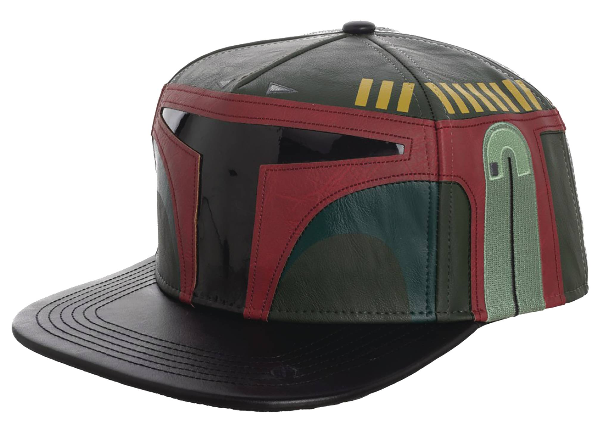 STAR WARS BOBA FETT EMBROIDERED SNAPBACK CAP W/SOUND CHIP