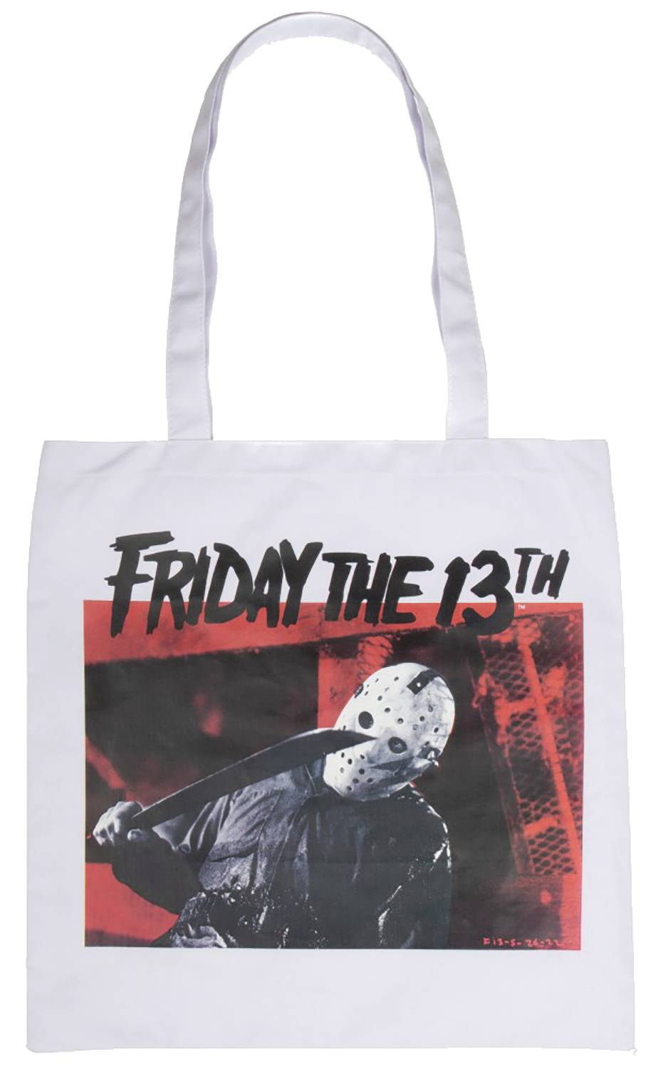 FRIDAY THE 13TH IMAGE CAPTURE CANVAS TOTE