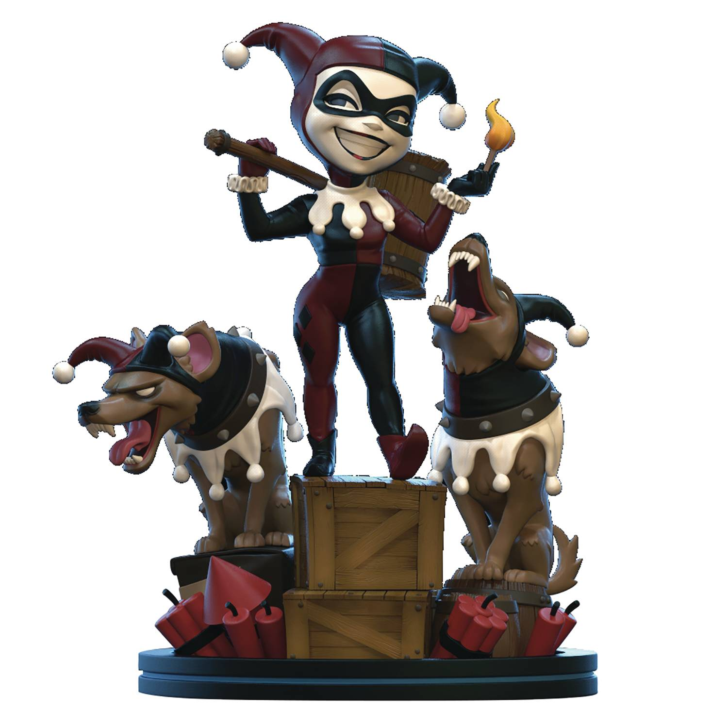 DC HEROES HARLEY QUINN Q-FIG REMASTERED DIORAMA FIGURE