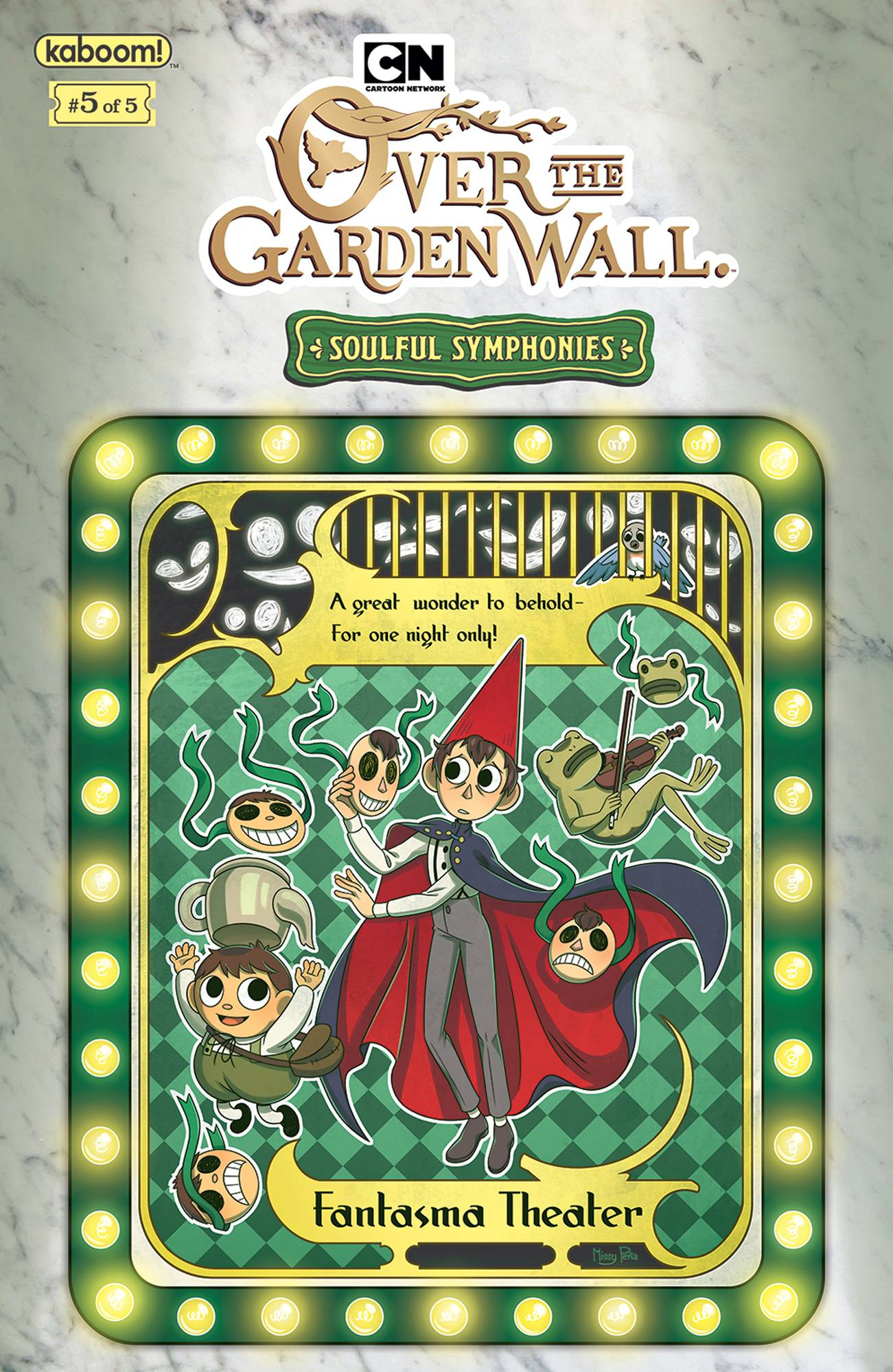 OVER GARDEN WALL SOULFUL SYMPHONIES #5 (OF 5) PREORDER PENA