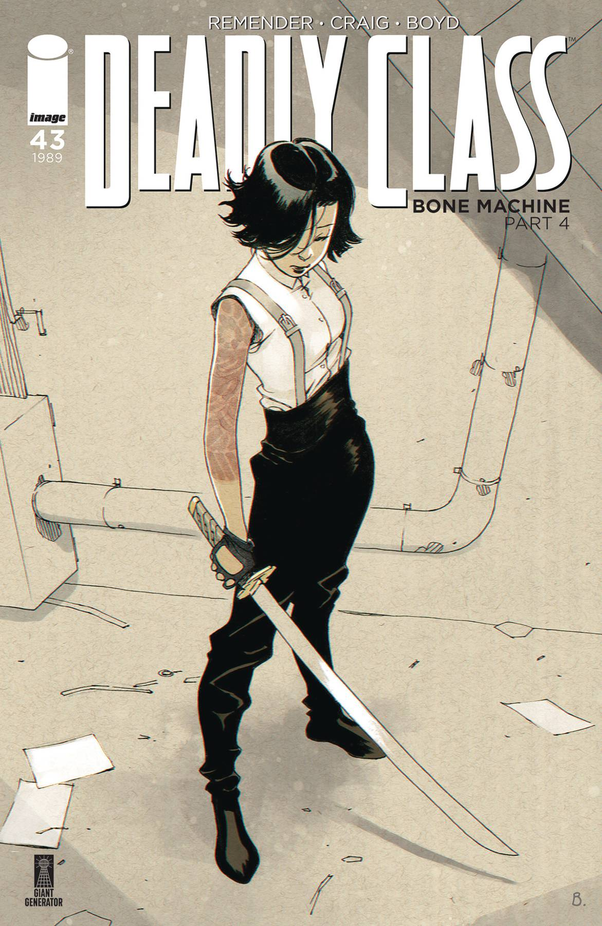 DEADLY CLASS #43 CVR B BENGAL (MR)