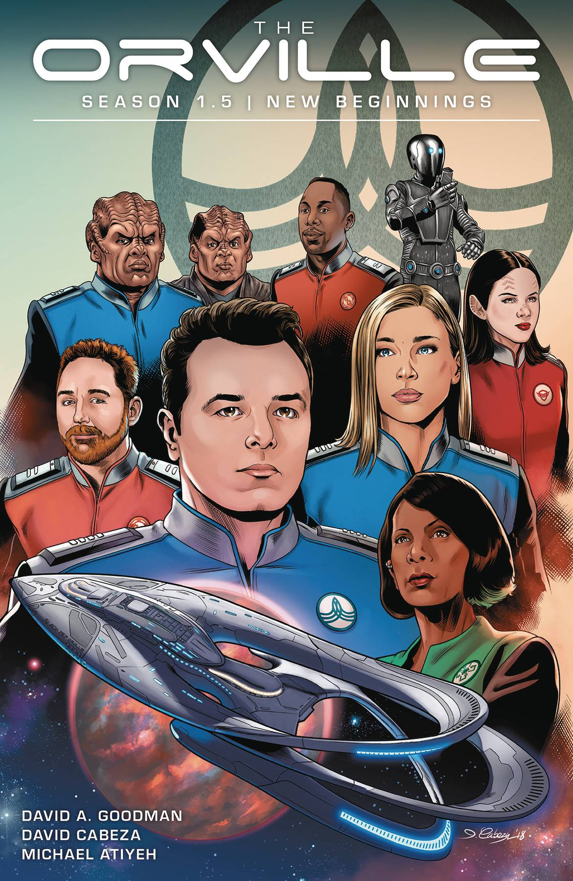 ORVILLE SEASON 1.5 TP VOL 01 NEW BEGINNINGS