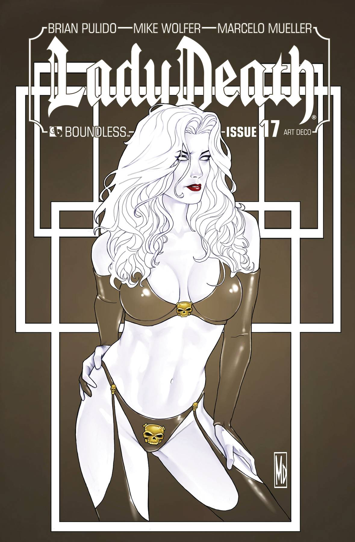 LADY DEATH #17 ART DECO VARIANT