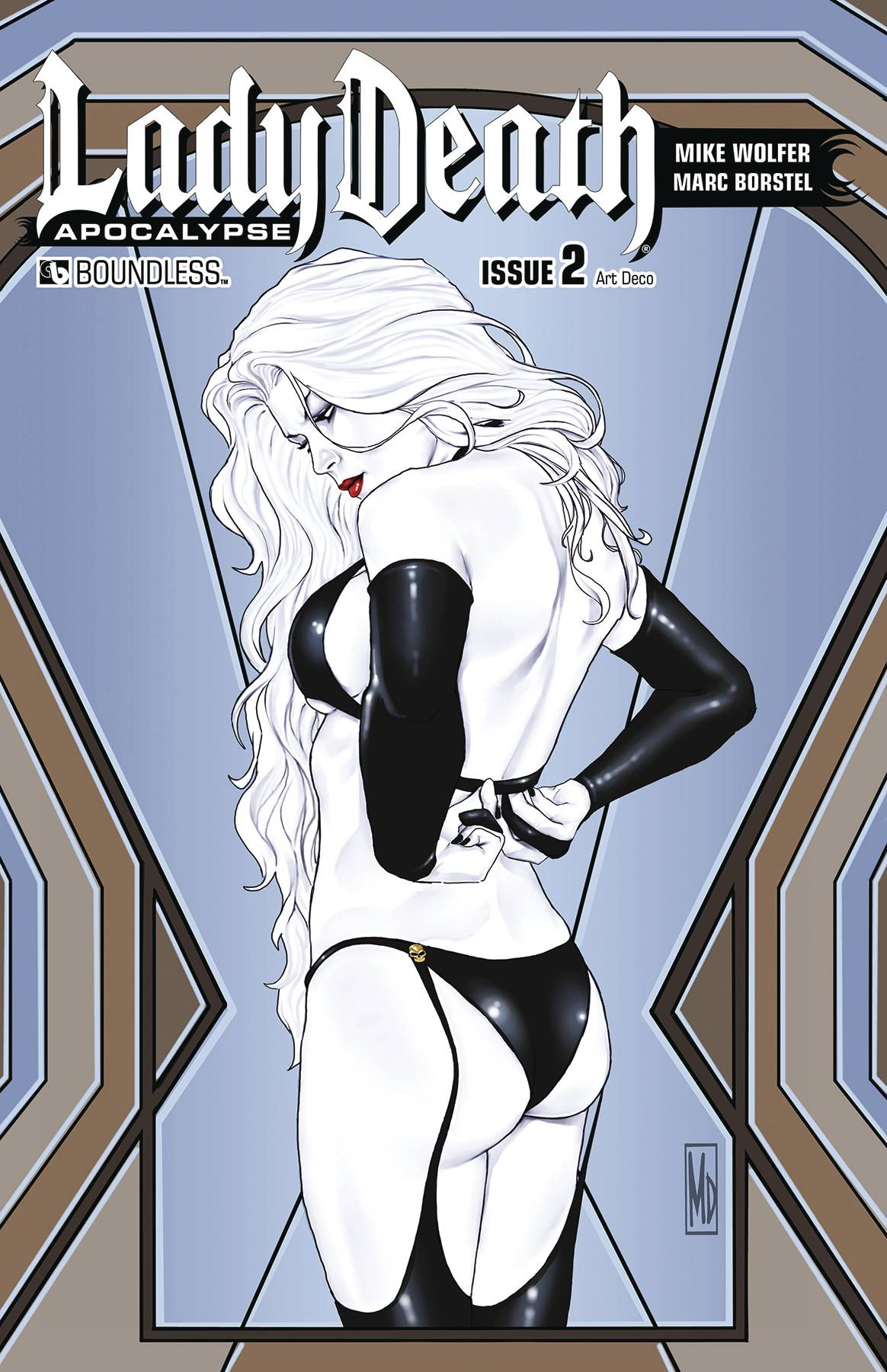 LADY DEATH APOCALYPSE #2 ART DECO VAR