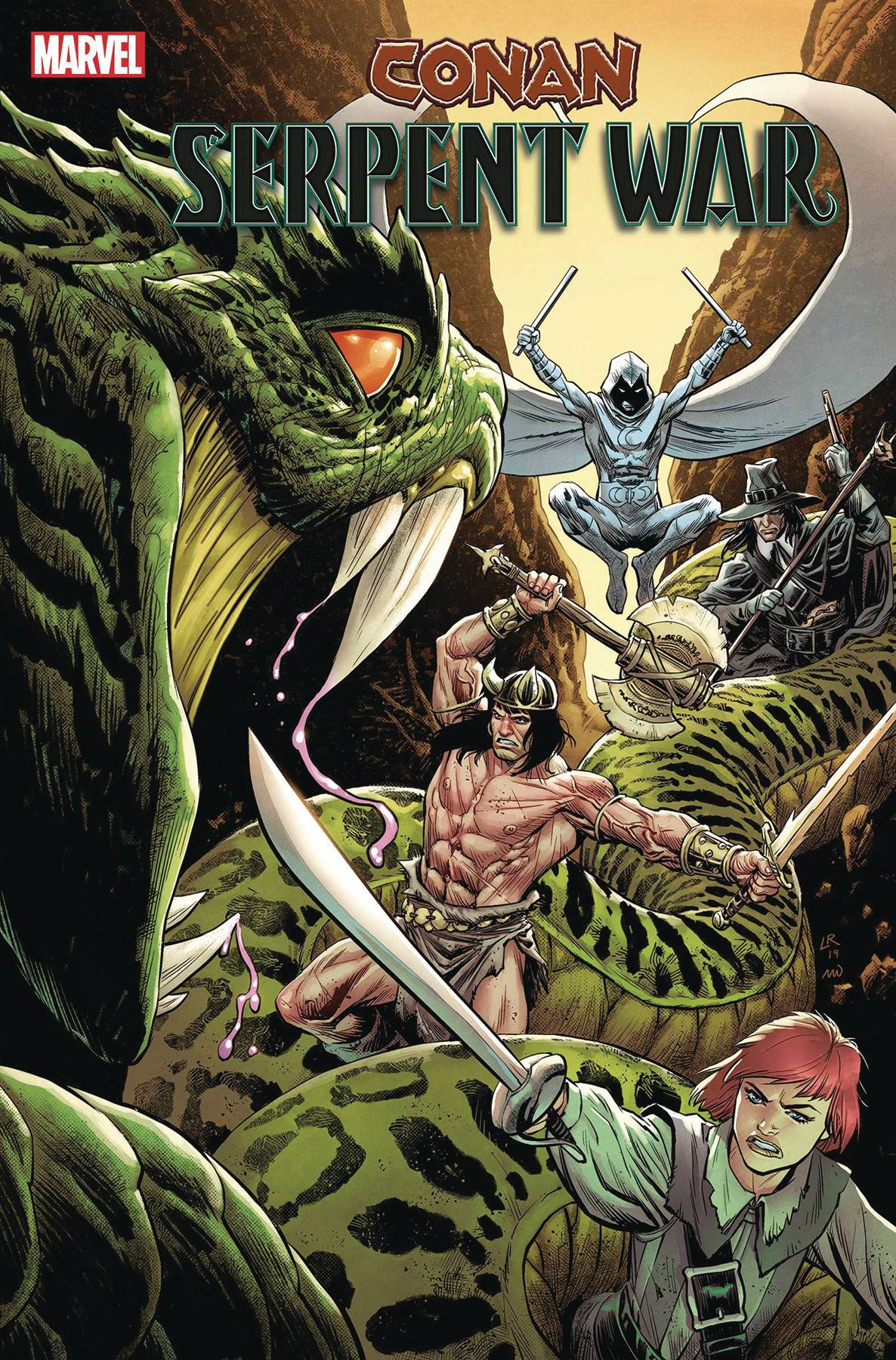 CONAN SERPENT WAR #2 (OF 4) LUKE ROSS VAR