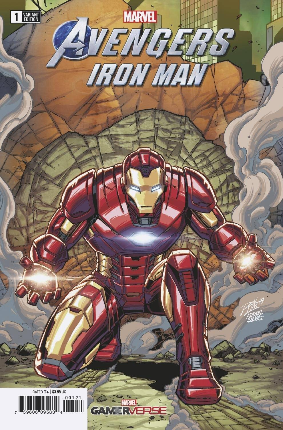 MARVELS AVENGERS IRON MAN #1 RON LIM VAR