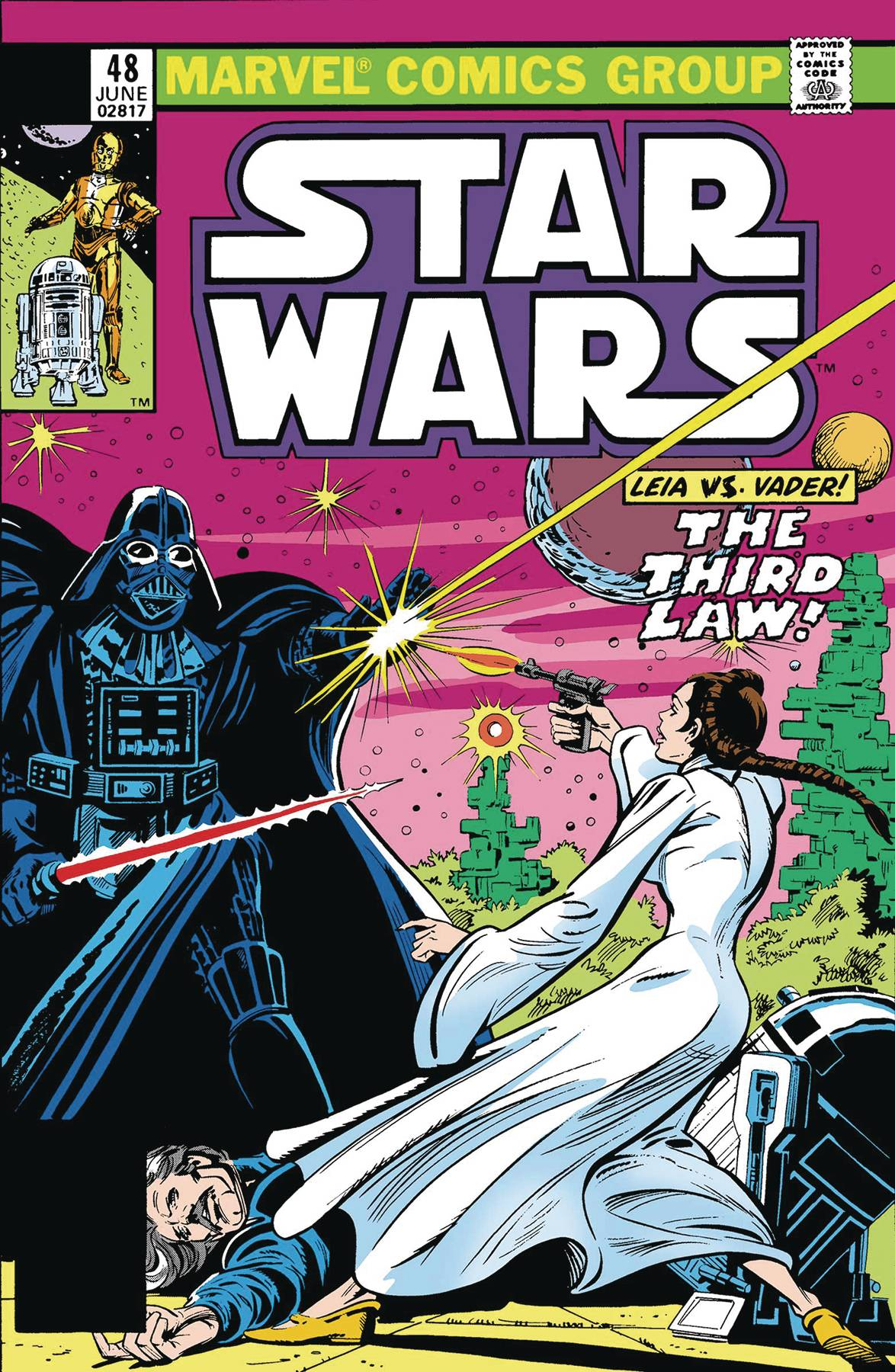 TRUE BELIEVERS STAR WARS VADER VS LEIA #1
