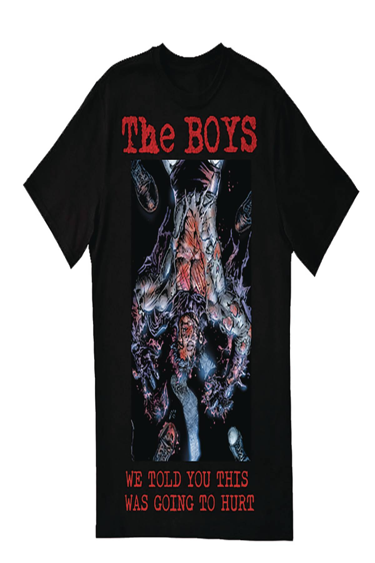 THE BOYS ISSUE #7 COVER T/S UNISEX S