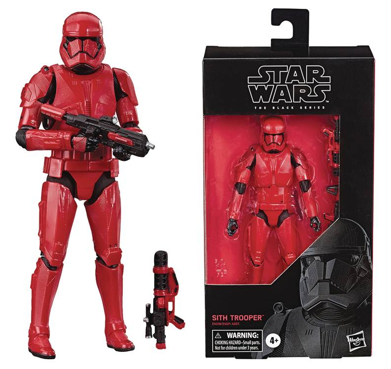 SW BLACK SERIES SITH TROOPER 6IN AF CS