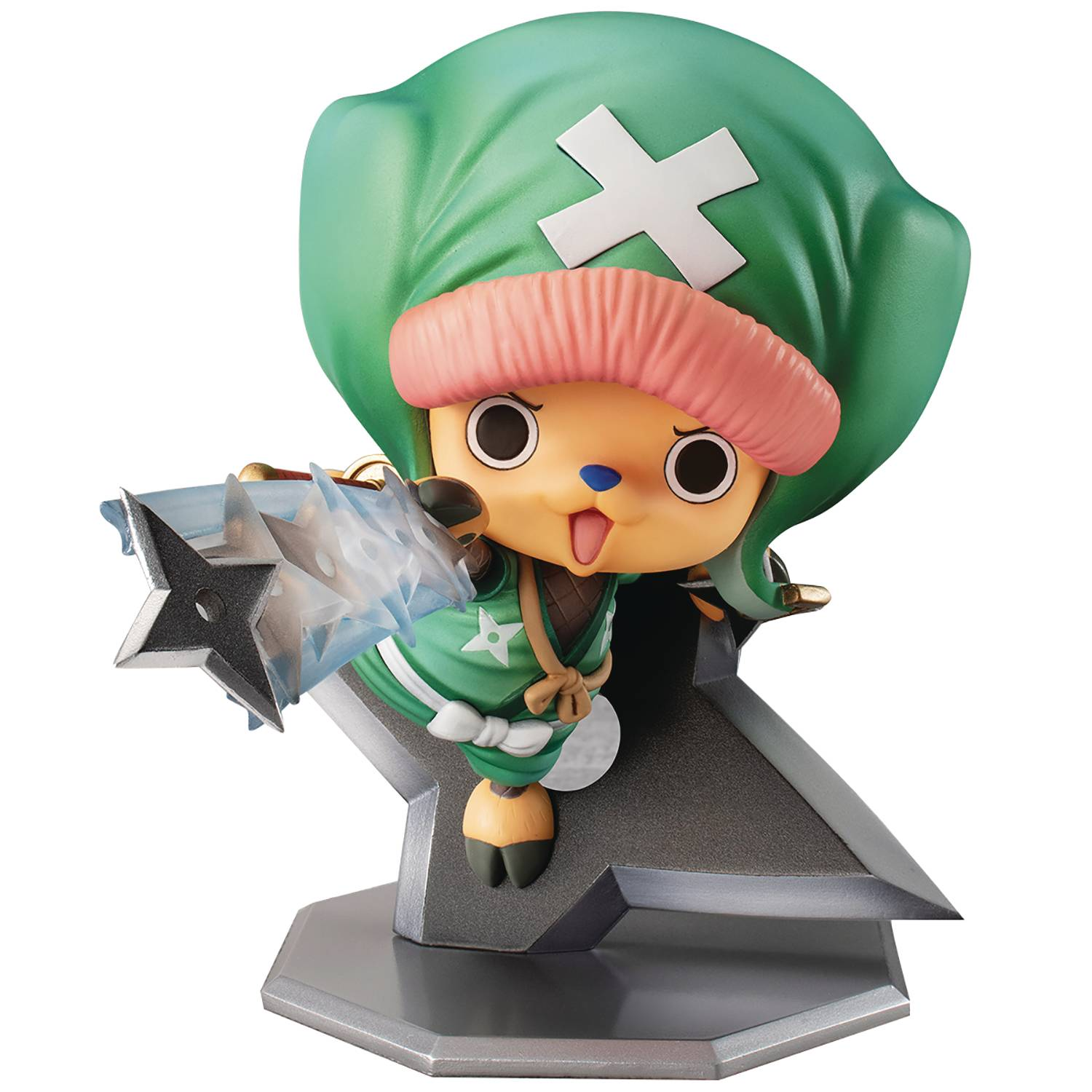 ONE PIECE PORTRAIT PIRATES WARRIORS ALL CHOPPEREMON PVC FIG