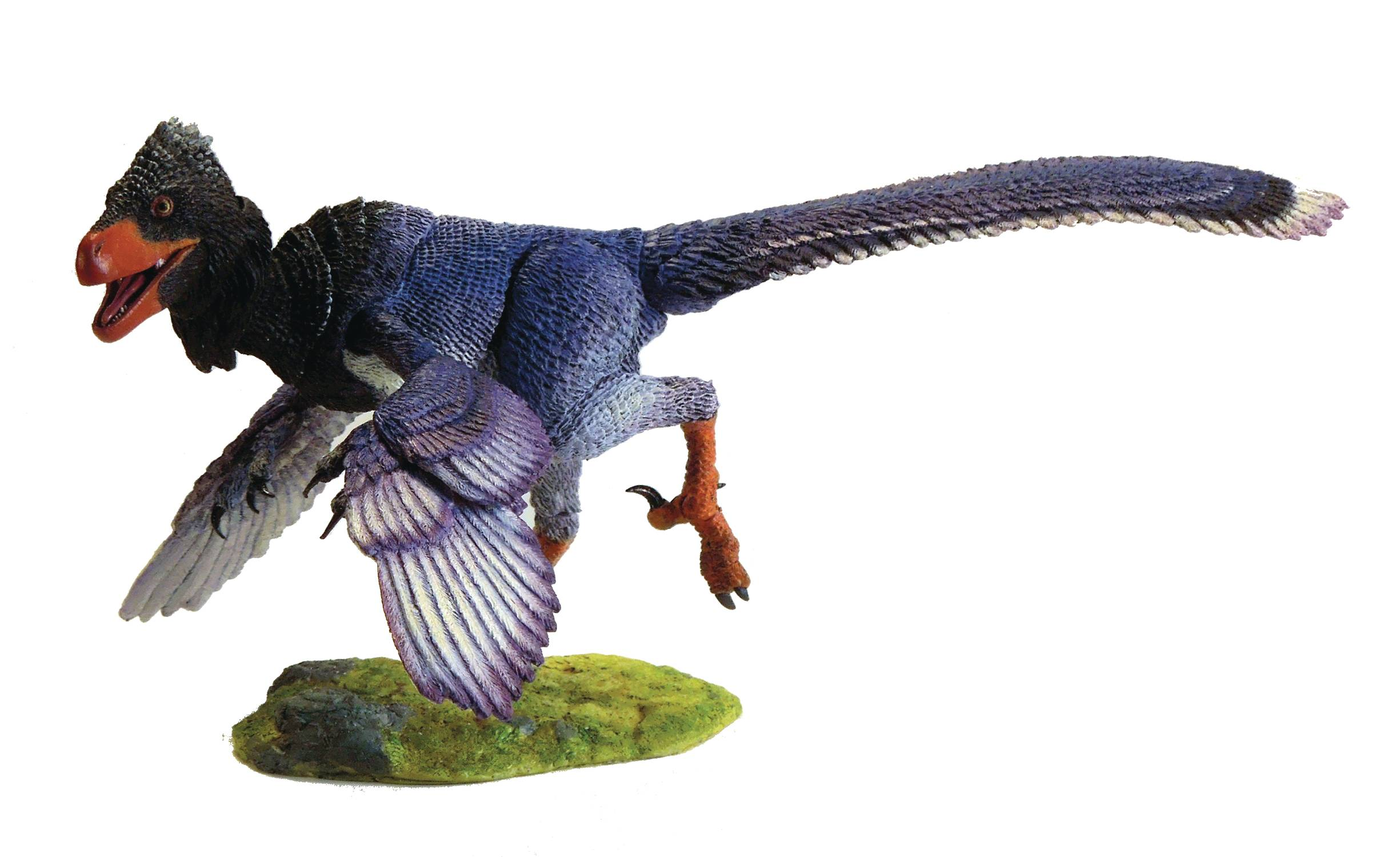 BEASTS OF MESOZOIC RAPTOR SERIES ZHENYUANLONG BLUE 1/6 AF (C