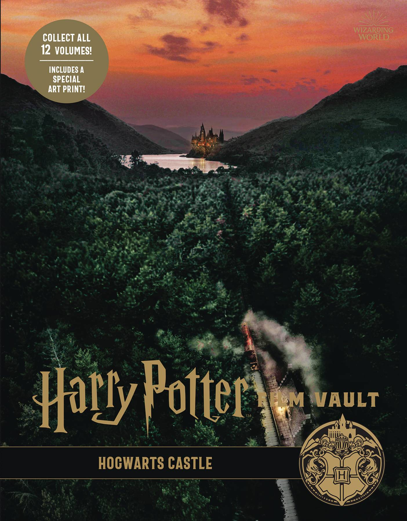 HARRY POTTER FILM VAULT HC VOL 06 HOGWARTS CASTLE