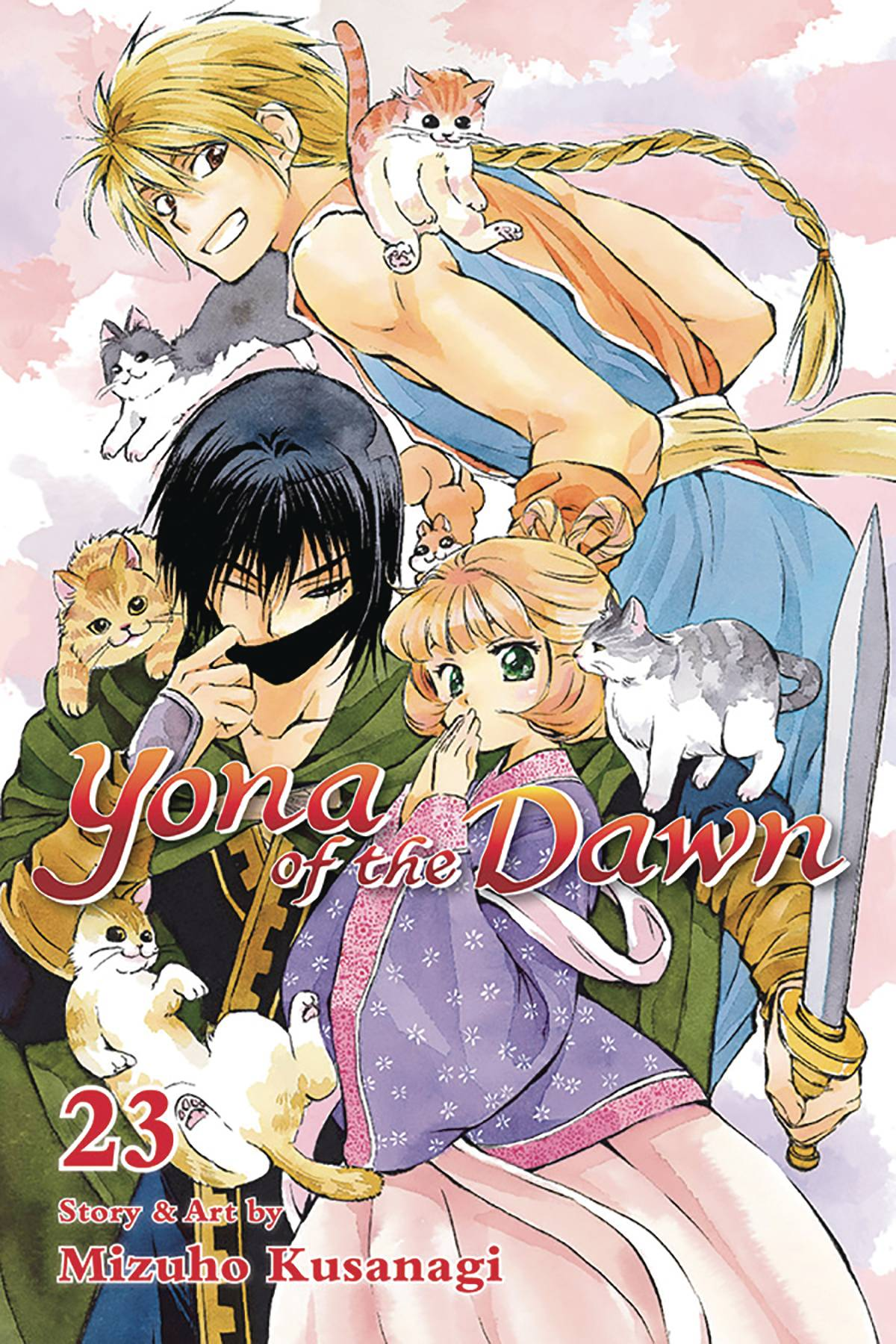 YONA OF THE DAWN GN VOL 23