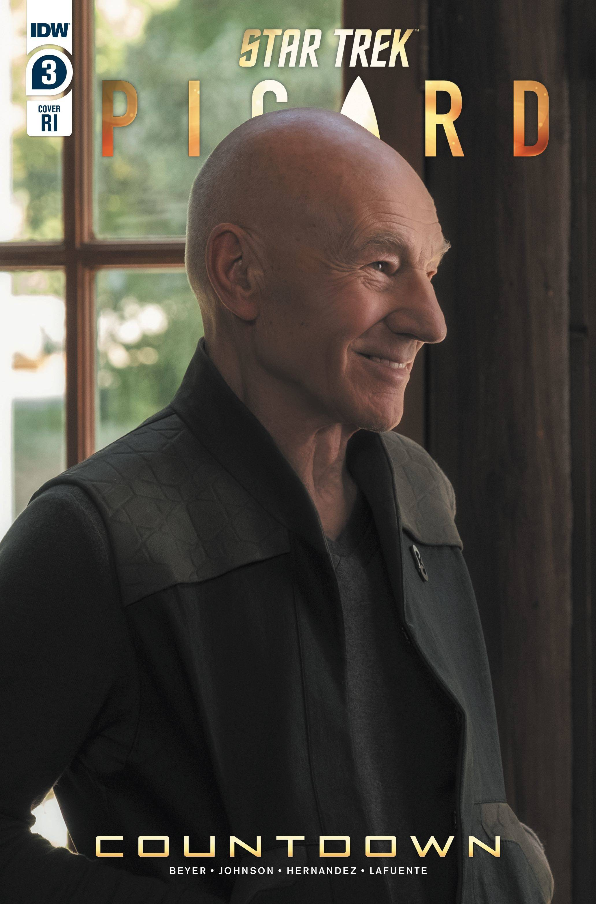 STAR TREK PICARD #3 (OF 3) 10 COPY INCV PHOTO