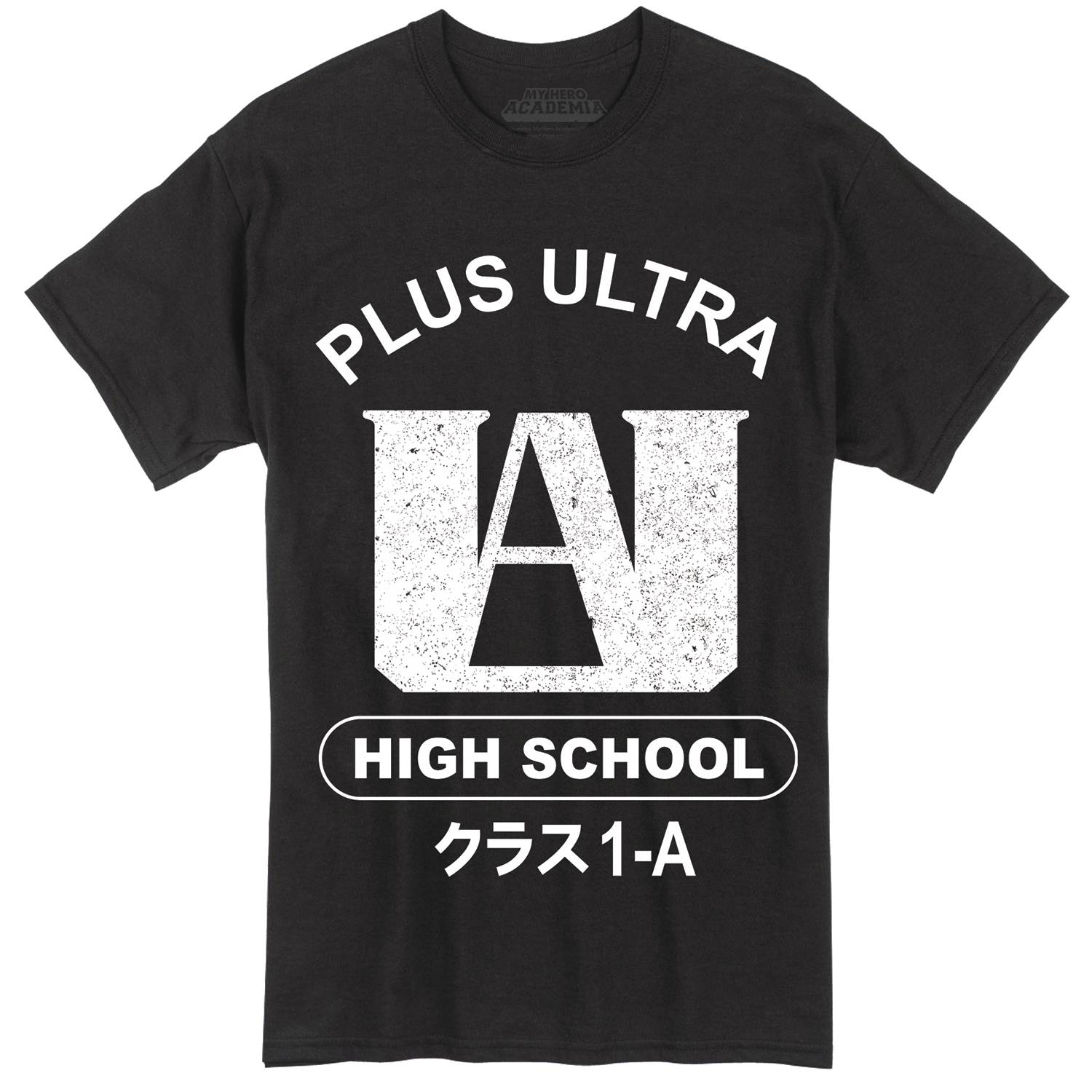 MY HERO ACADEMIA PLUS ULTRA BLK T/S XXL