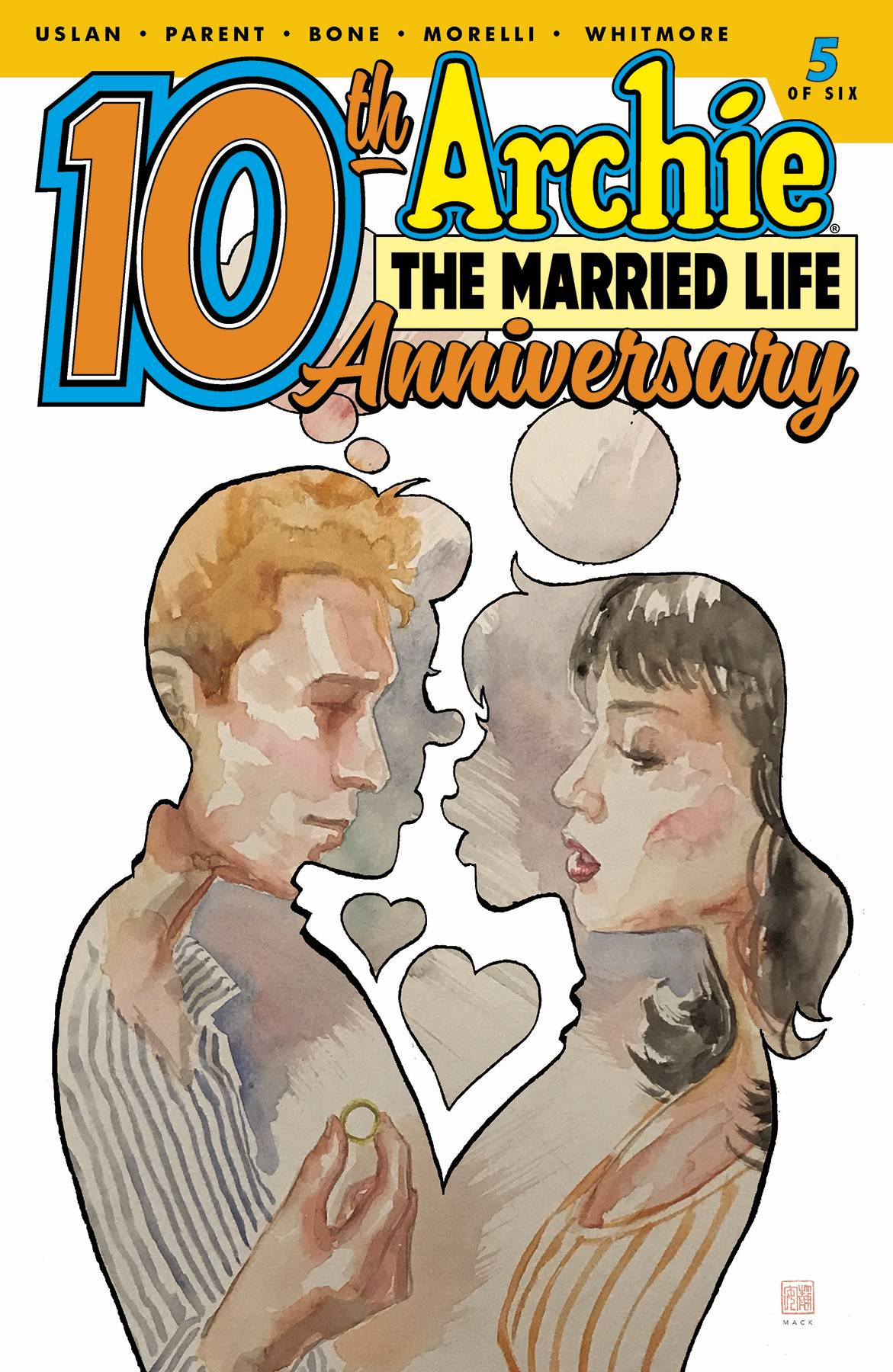 ARCHIE MARRIED LIFE 10 YEARS LATER #5 CVR B MACK
