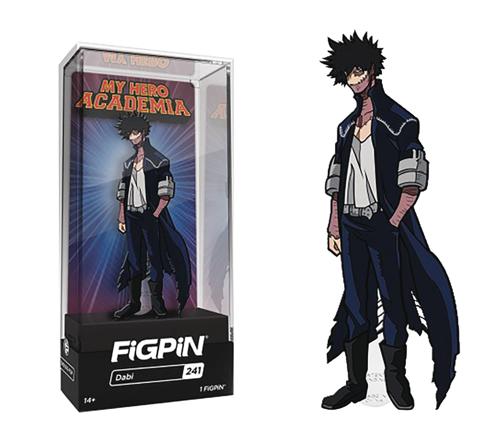 FIGPIN MY HERO ACADEMIA DABI PIN