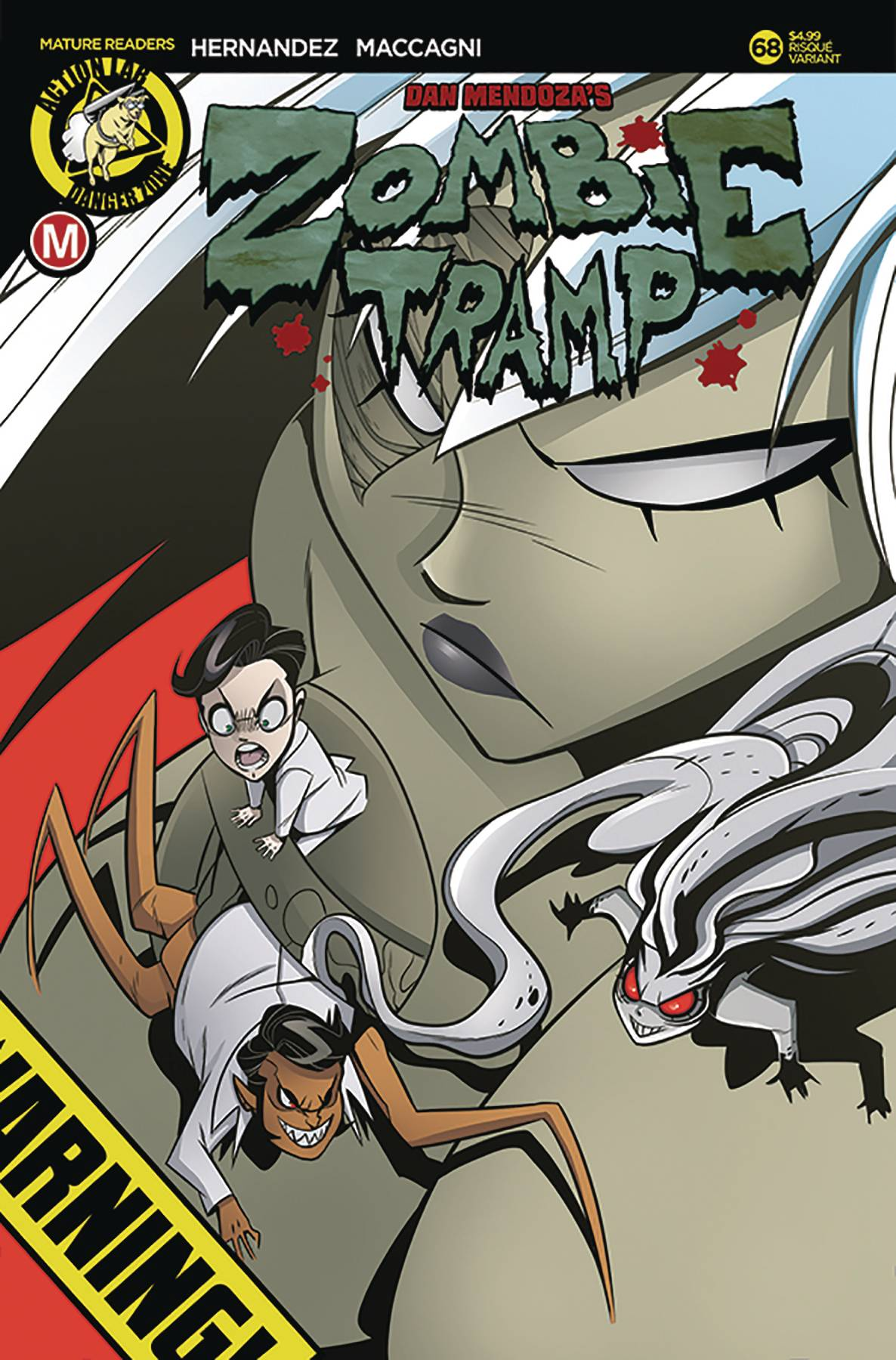 ZOMBIE TRAMP ONGOING #68 CVR B MACCAGNI RISQUE (MR)