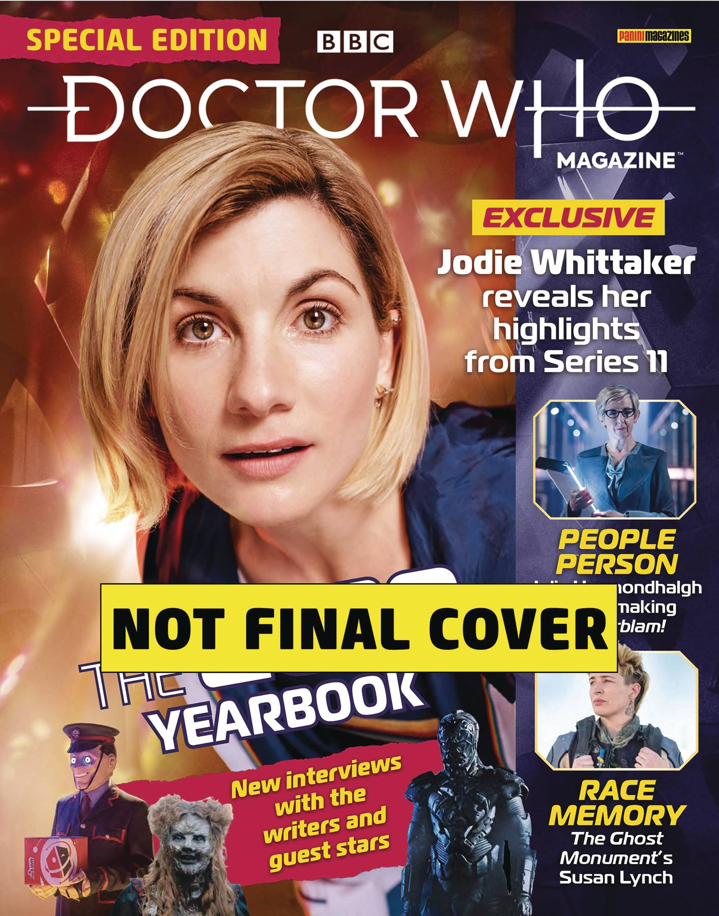 DOCTOR WHO MAGAZINE SPECIAL #54 YEAR BOOK