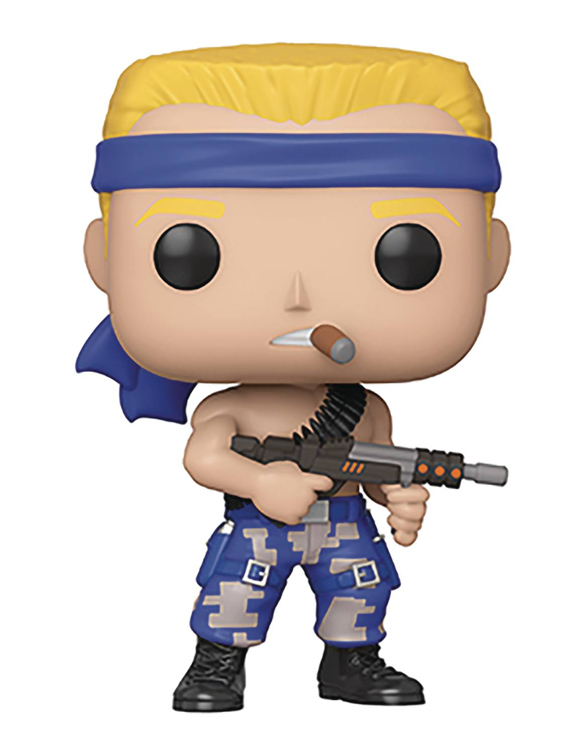 POP GAMES CONTRA BILL VINYL FIGURE