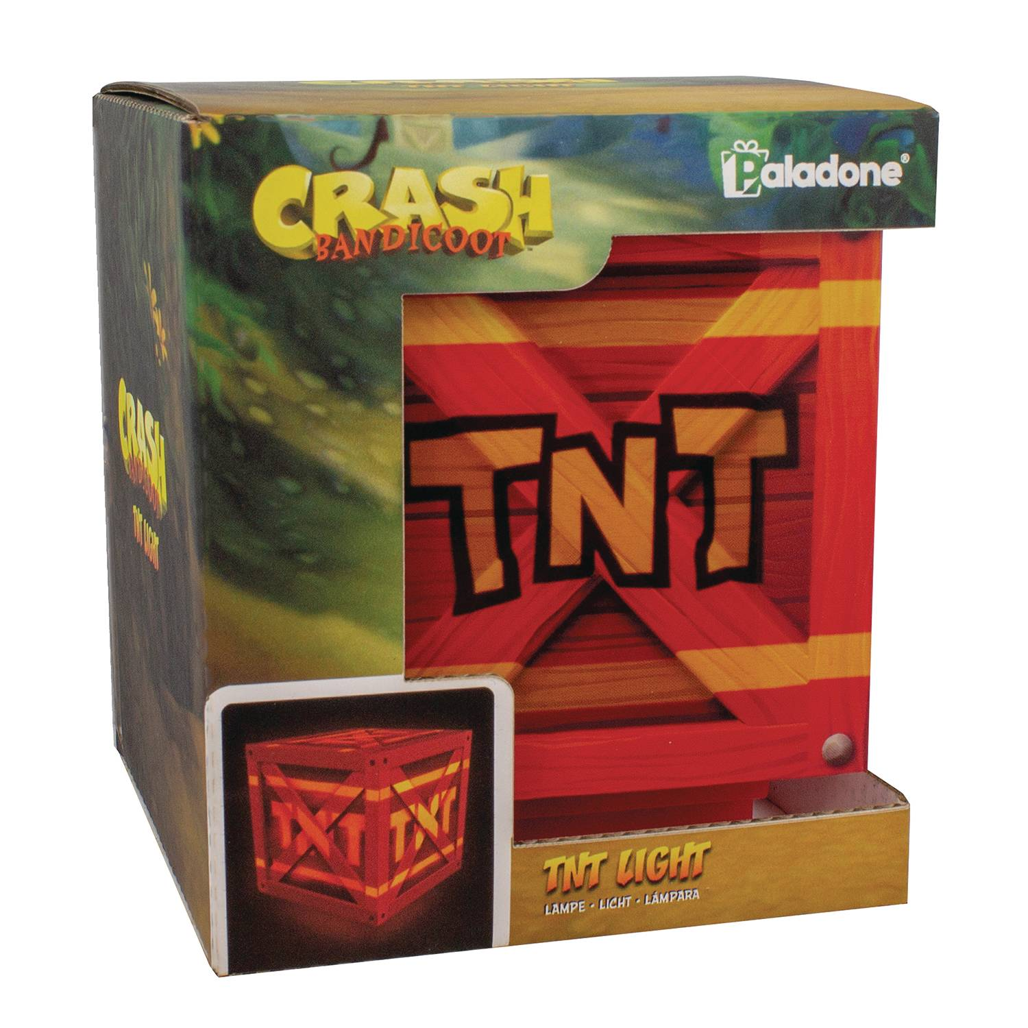 CRASH BANDICOOT TNT LIGHT