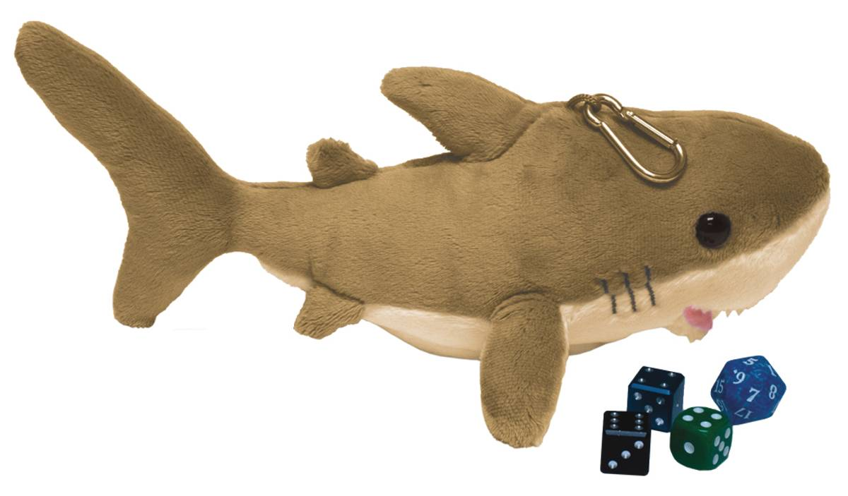 9IN SHARK GAMER DICE POUCH
