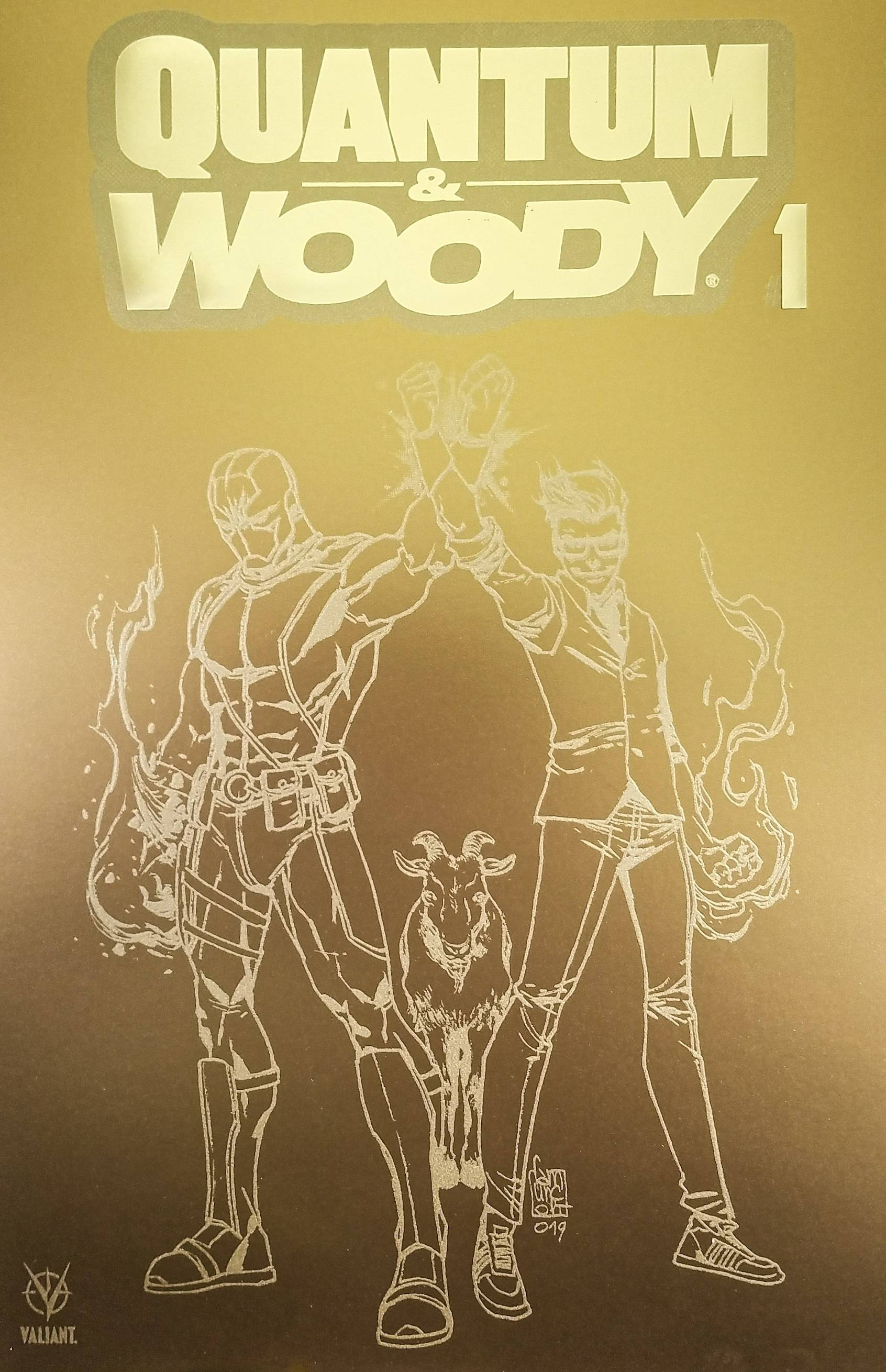 QUANTUM & WOODY (2020) #1 (OF 4) CVR E 100 COPY FOOLS GOLD I