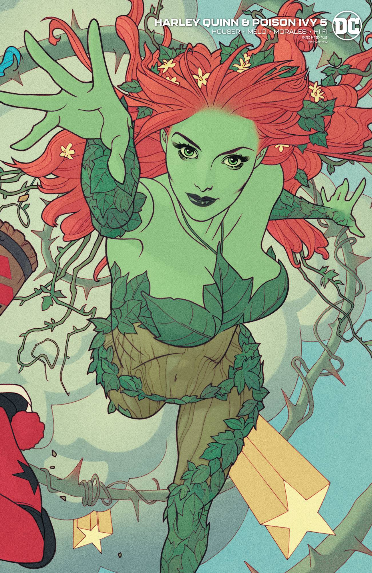 HARLEY QUINN & POISON IVY #5 (OF 6) CARD STOCK POISON IVY VA