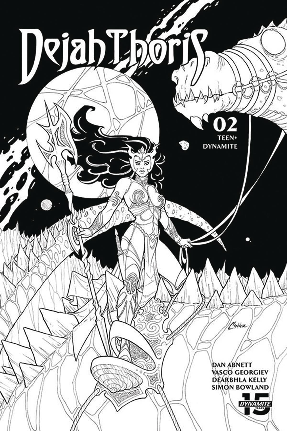 DEJAH THORIS (2019) #2 20 COPY CONNER B&W INCV