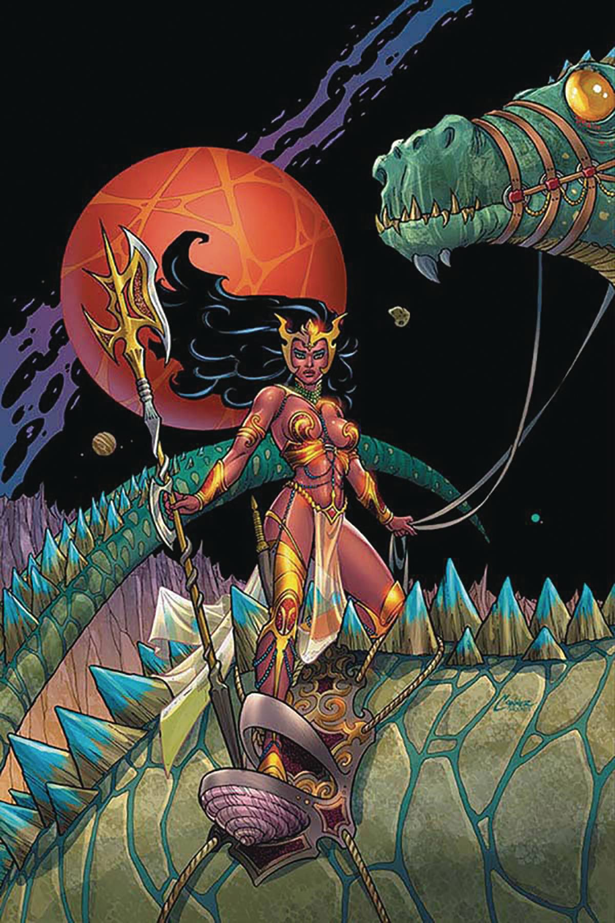 DEJAH THORIS (2019) #2 CONNER LTD VIRGIN CVR