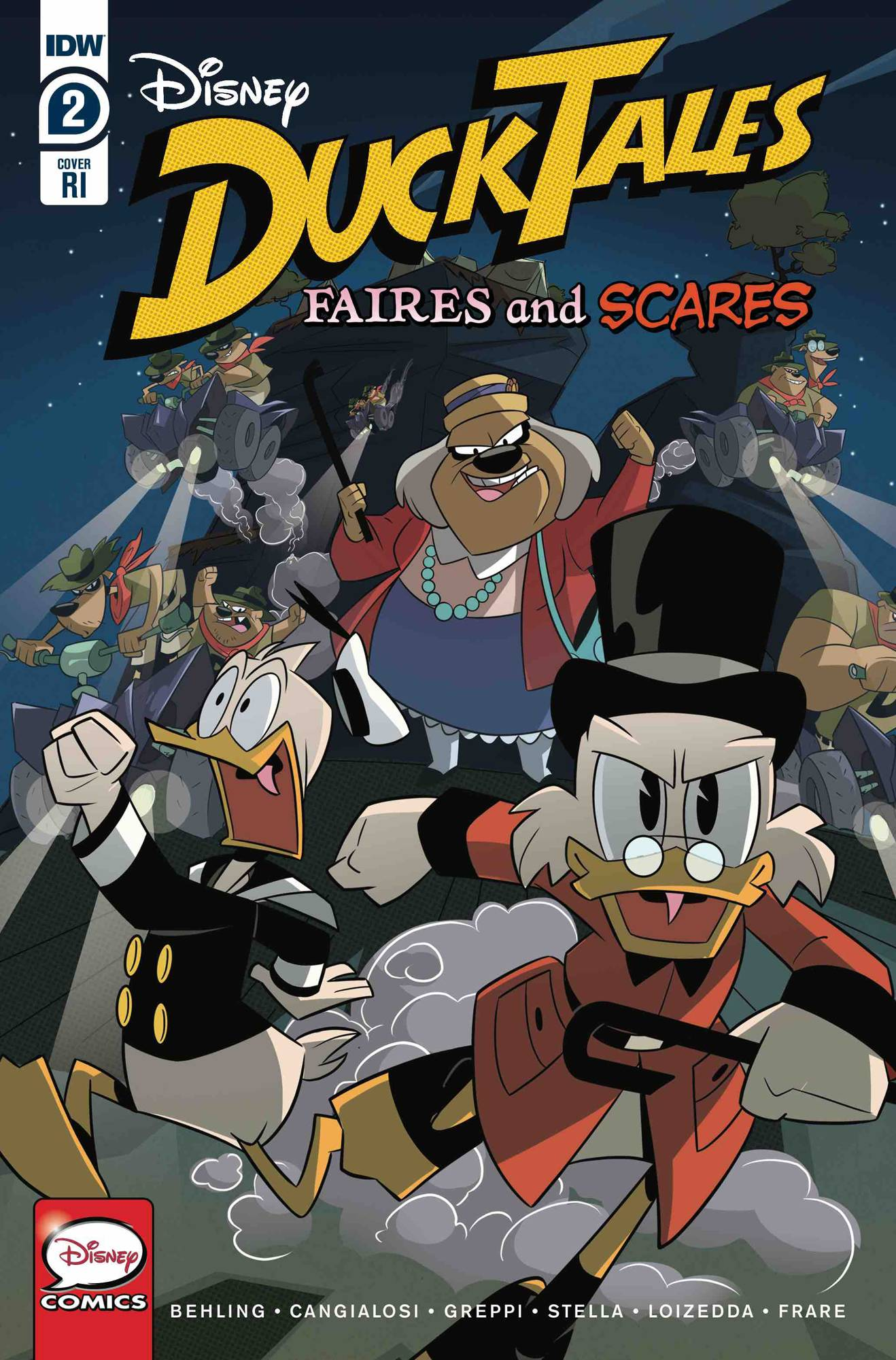 DUCKTALES FAIRES & SCARES #2 (OF 3) 10 COPY INCV DUCKTALES C
