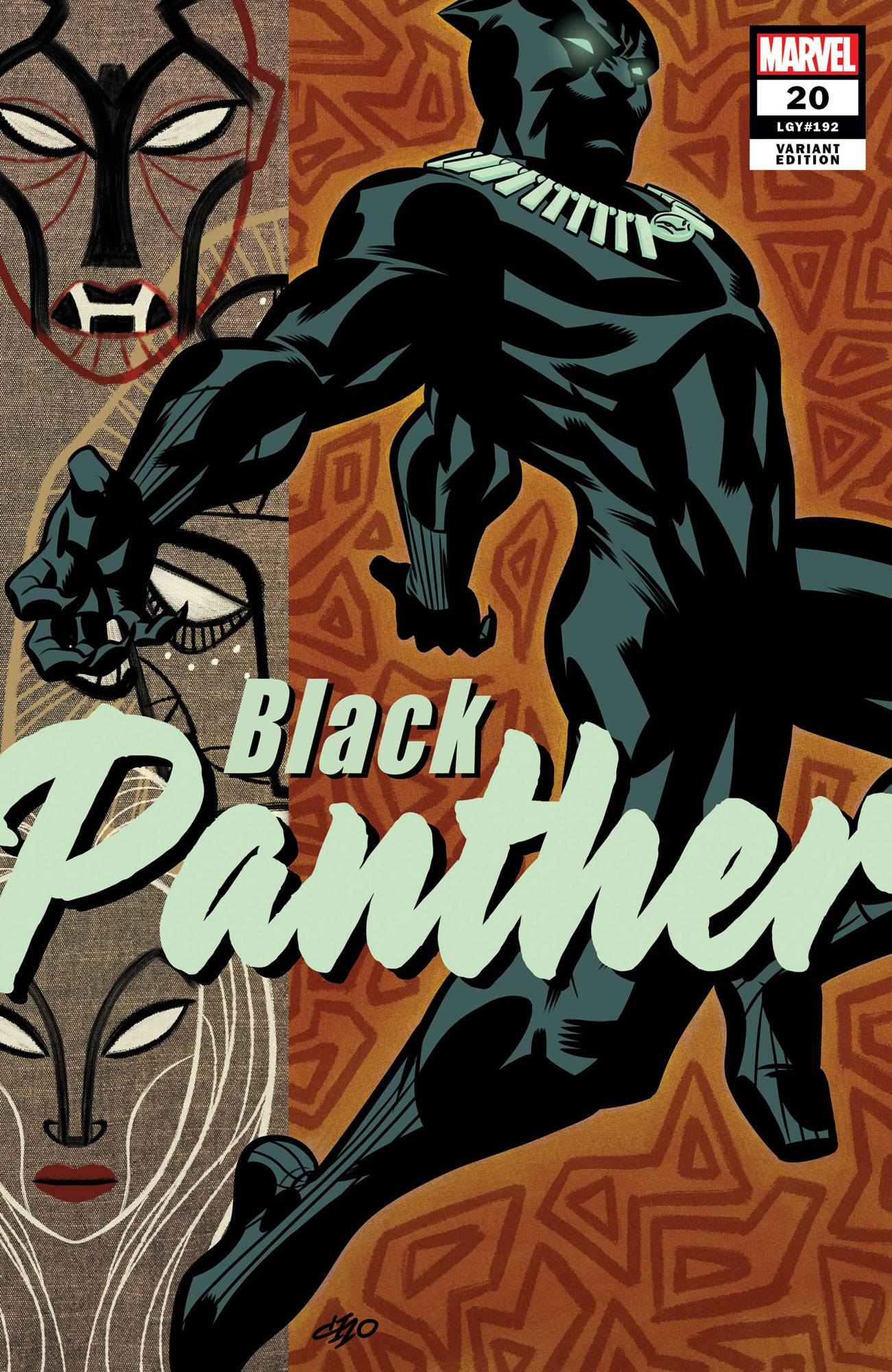 BLACK PANTHER #20 MICHAEL CHO VAR