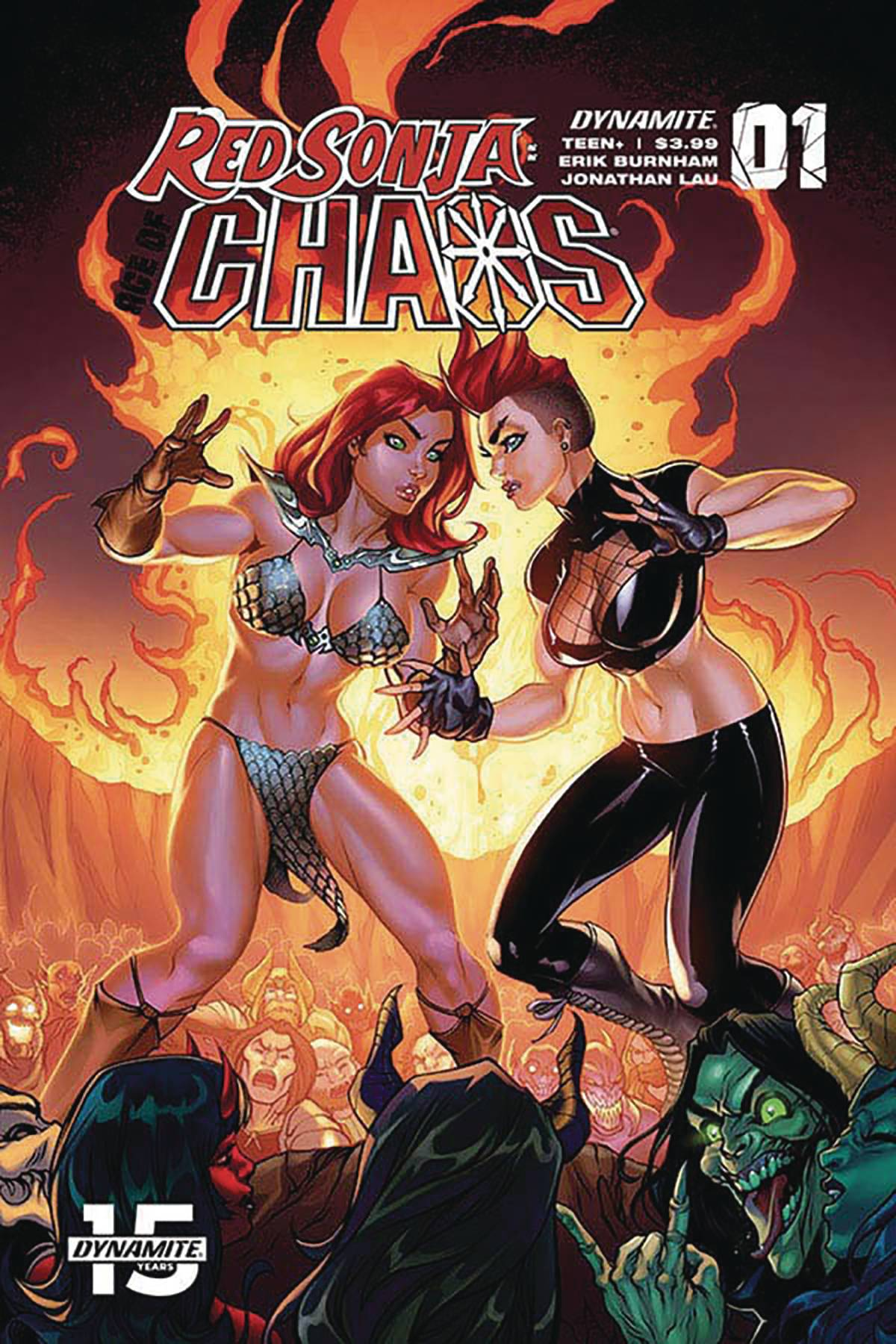 RED SONJA AGE OF CHAOS #1 CVR D GARZA
