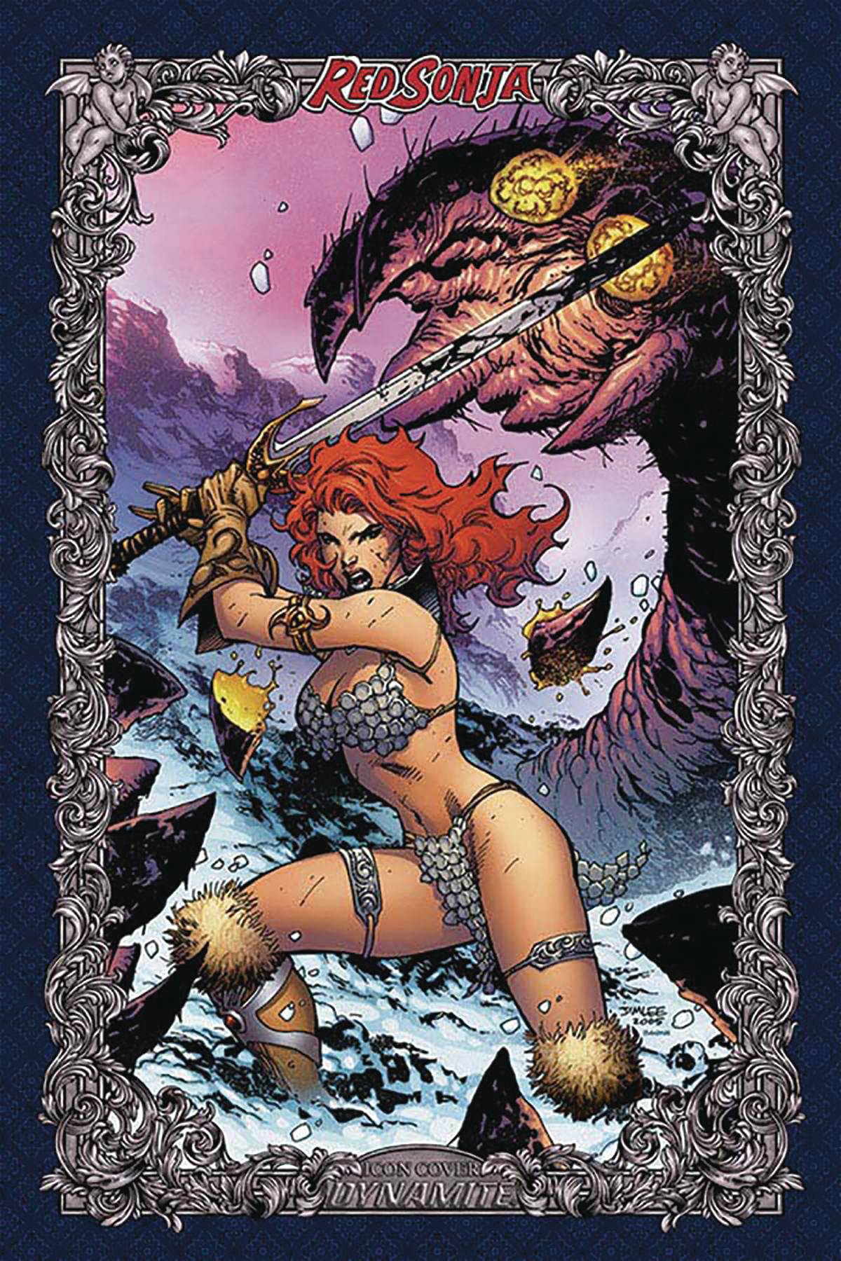 RED SONJA AGE OF CHAOS #1 75 COPY LEE ICON INCV